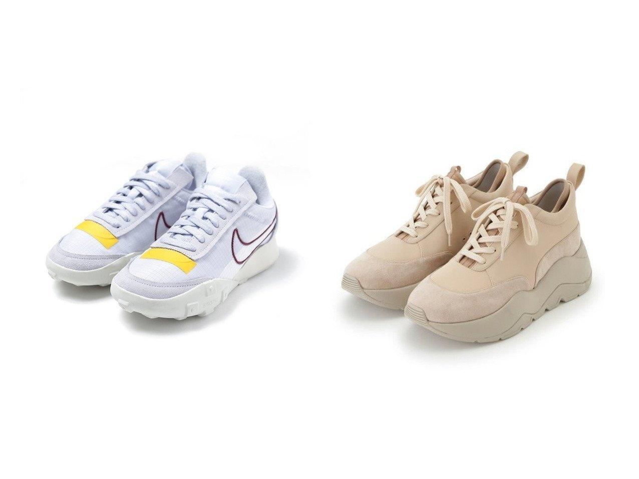 【emmi/エミ】の【NIKE meets emmi】W NIKE WAFFLE RACER 2X&【emmi original】emmiオリジナルスニーカーVol.2 シューズ・靴のおすすめ!人気、トレンド・レディースファッションの通販  おすすめで人気の流行・トレンド、ファッションの通販商品 メンズファッション・キッズファッション・インテリア・家具・レディースファッション・服の通販 founy(ファニー) https://founy.com/ ファッション Fashion レディースファッション WOMEN インソール シューズ スニーカー スリッポン フォルム フロント レース 抗菌 インナー クラシック フレンチ ランニング ワッフル 軽量  ID:crp329100000009841