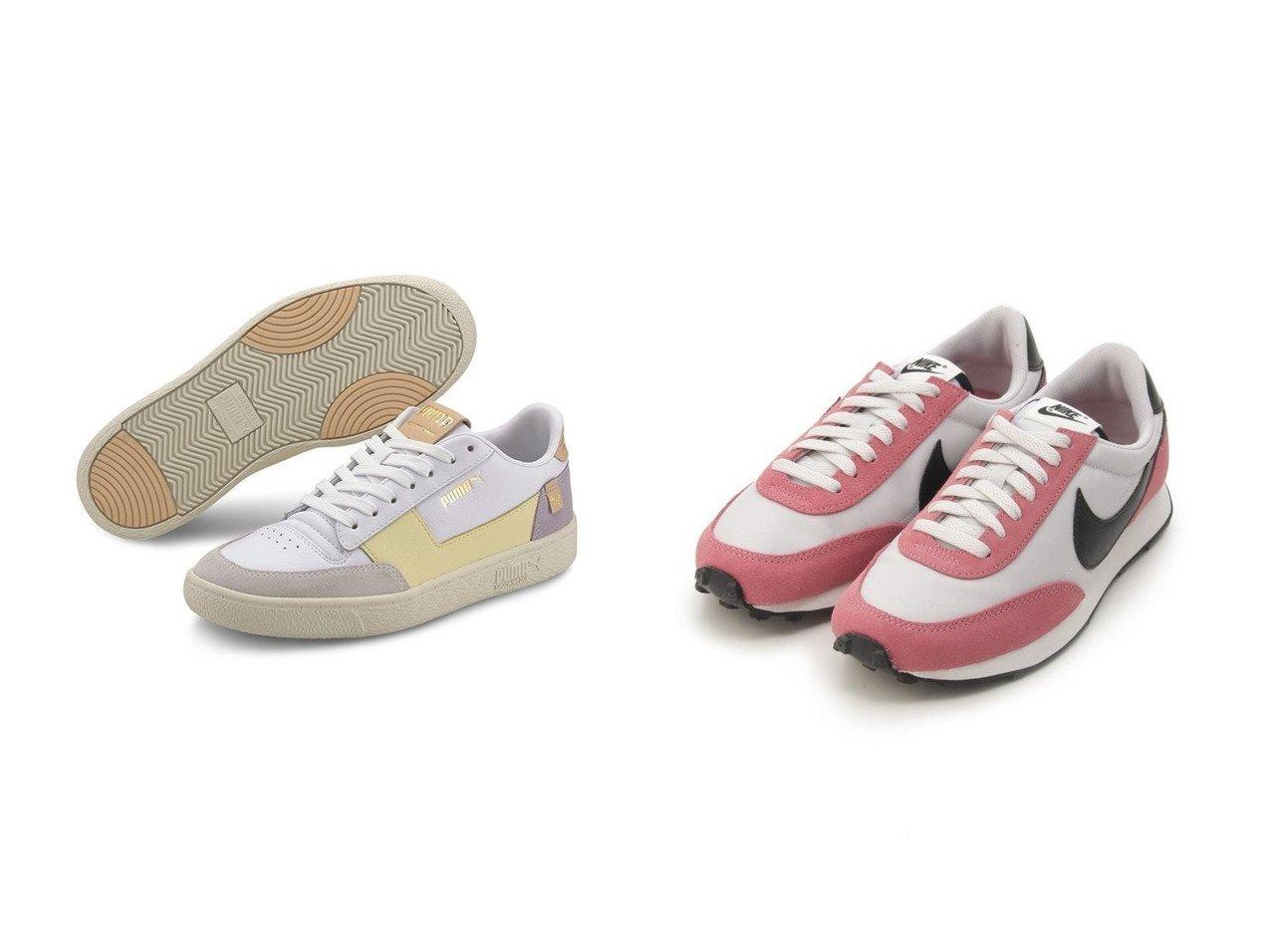 【emmi/エミ】の【PUMA】ラルフサンプソン MC&【NIKE】W NIKE DBREAK シューズ・靴のおすすめ!人気、トレンド・レディースファッションの通販  おすすめで人気の流行・トレンド、ファッションの通販商品 メンズファッション・キッズファッション・インテリア・家具・レディースファッション・服の通販 founy(ファニー) https://founy.com/ ファッション Fashion レディースファッション WOMEN シューズ スニーカー スリッポン プリント ミックス ヴィンテージ フェミニン 切替  ID:crp329100000009842