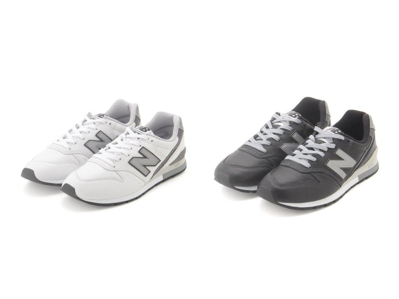 【emmi/エミ】の【New Balance】CM996&【New Balance】CM996 シューズ・靴のおすすめ!人気、トレンド・レディースファッションの通販  おすすめで人気の流行・トレンド、ファッションの通販商品 メンズファッション・キッズファッション・インテリア・家具・レディースファッション・服の通販 founy(ファニー) https://founy.com/ ファッション Fashion レディースファッション WOMEN シューズ スニーカー スリッポン  ID:crp329100000009844