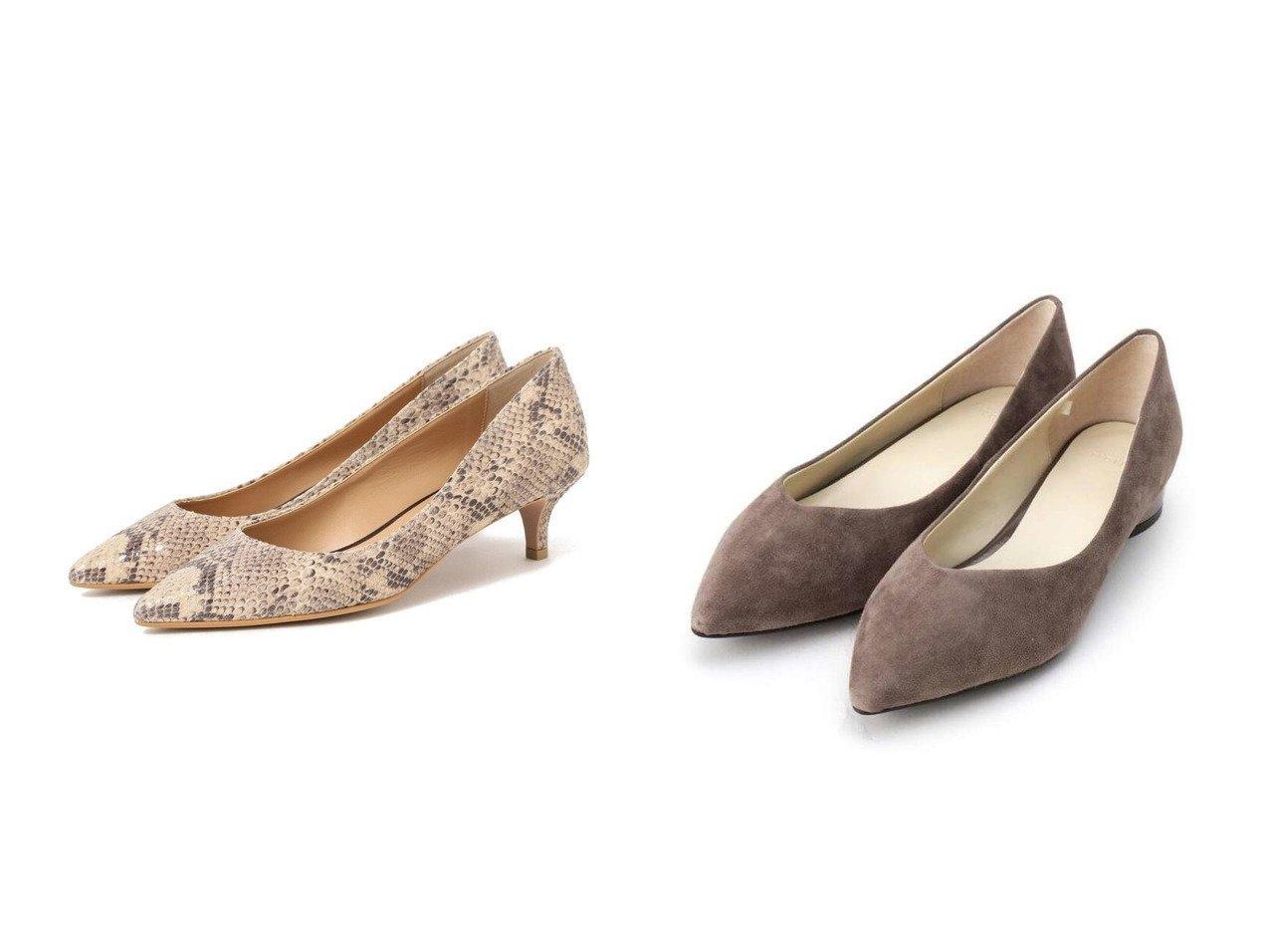 【INDIVI/インディヴィ】の【抗菌防臭/消臭】ポインテッドトゥフラットパンプス(ヒール2.5cm)&【Demi-Luxe BEAMS/デミルクス ビームス】のDemi- パイソン ポインテッド パンプス シューズ・靴のおすすめ!人気、トレンド・レディースファッションの通販  おすすめで人気の流行・トレンド、ファッションの通販商品 メンズファッション・キッズファッション・インテリア・家具・レディースファッション・服の通販 founy(ファニー) https://founy.com/ ファッション Fashion レディースファッション WOMEN シューズ パイソン ポインテッド クッション シェイプ スーツ フラット 抗菌  ID:crp329100000009846