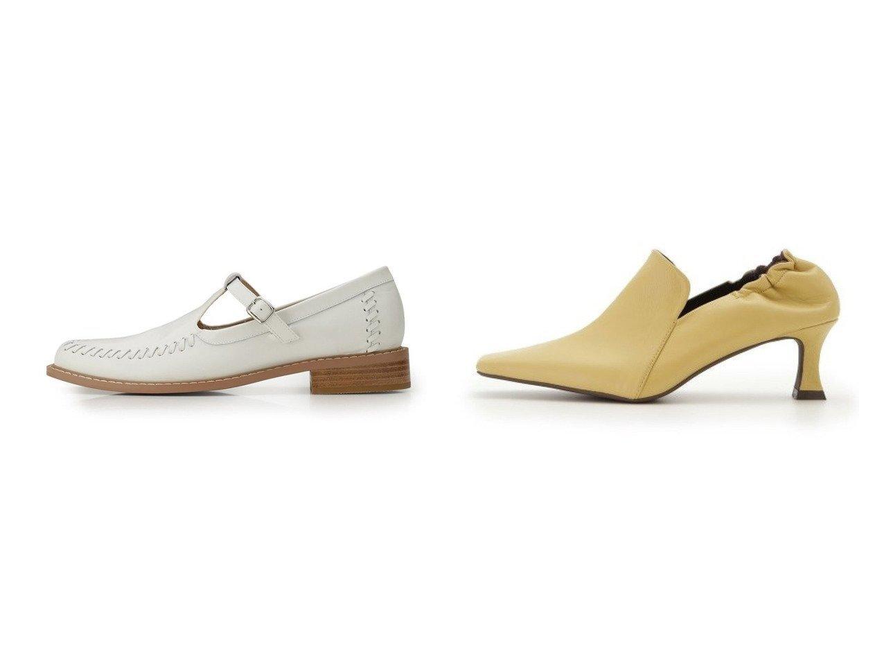 【Mila Owen/ミラオーウェン】のバッグギャザーオペラパンプス&【FURFUR/ファーファー】のTストラップローファー シューズ・靴のおすすめ!人気、トレンド・レディースファッションの通販  おすすめで人気の流行・トレンド、ファッションの通販商品 メンズファッション・キッズファッション・インテリア・家具・レディースファッション・服の通販 founy(ファニー) https://founy.com/ ファッション Fashion レディースファッション WOMEN シューズ ソックス ラップ 定番 12月号 バランス フィット フェイクレザー フレア 春  ID:crp329100000009847
