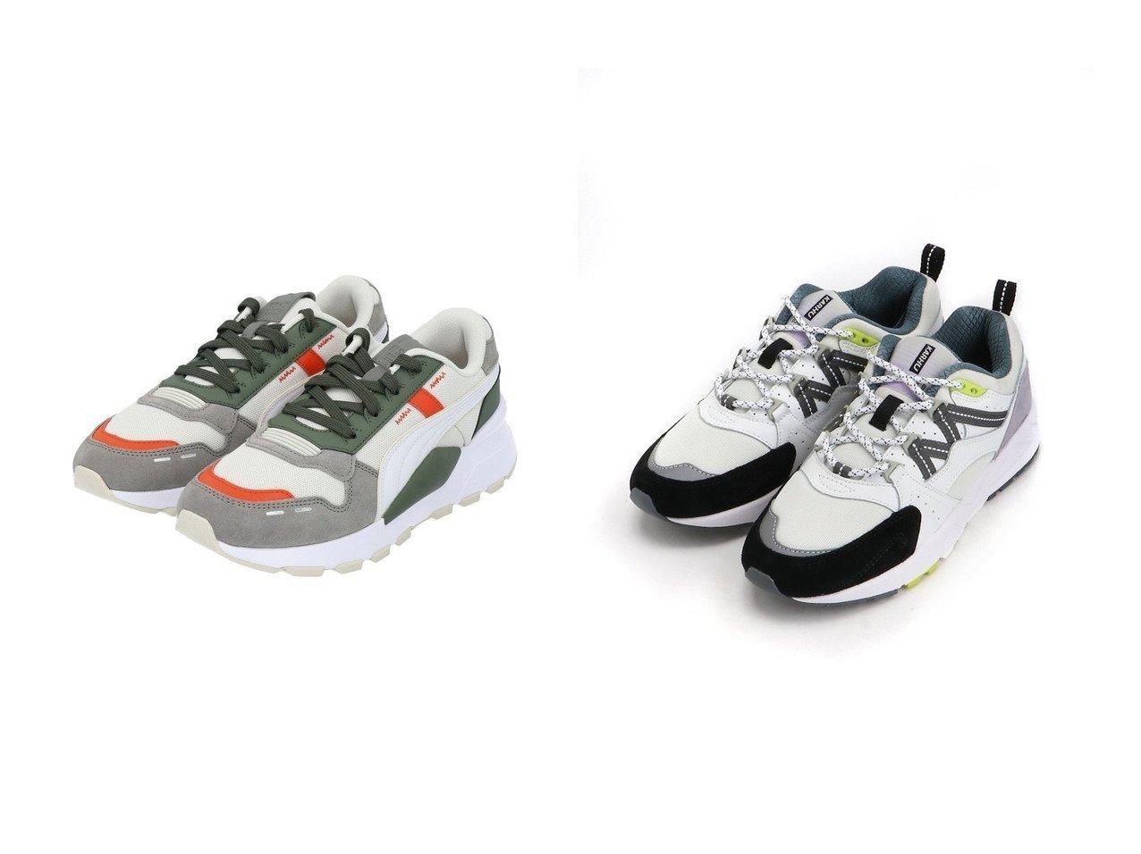 【KARHU/カルフ】のKARHU FUSION2.0 スニーカー&【PUMA/プーマ】のPUMA RS2.ウィンタライズド シューズ・靴のおすすめ!人気、トレンド・レディースファッションの通販  おすすめファッション通販アイテム インテリア・キッズ・メンズ・レディースファッション・服の通販 founy(ファニー)  ファッション Fashion レディースファッション WOMEN 2020年 2020 2020-2021 秋冬 A/W AW Autumn/Winter / FW Fall-Winter 2020-2021 A/W 秋冬 AW Autumn/Winter / FW Fall-Winter アクセサリー シューズ シンプル スニーカー スポーツ スリッポン パフォーマンス ボトム ランニング ワイド 人気 レッド系 Red |ID:crp329100000009848