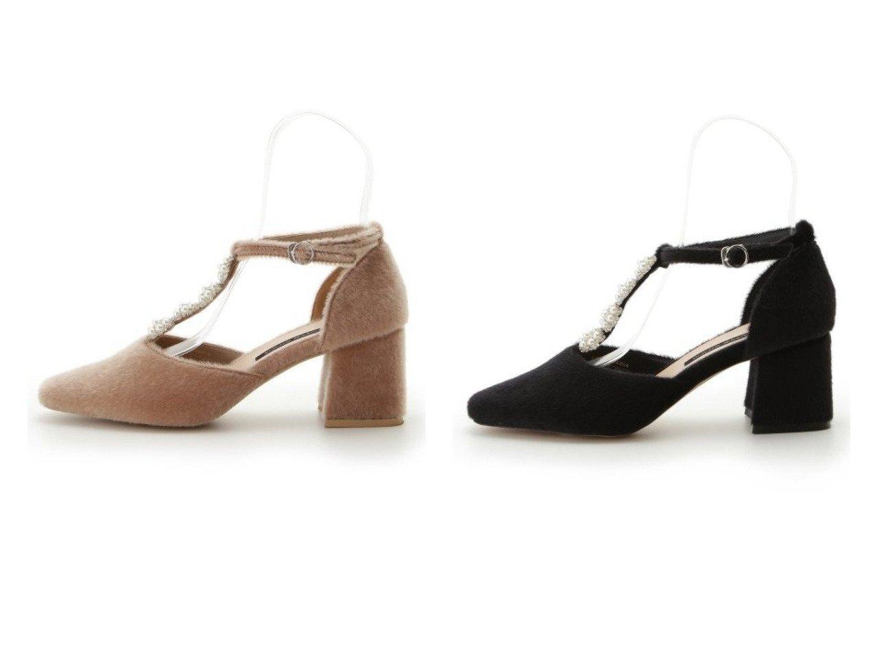 【Lily Brown/リリーブラウン】の[L.B CANDY STOCK]パールフラワーパンプス シューズ・靴のおすすめ!人気、トレンド・レディースファッションの通販  おすすめで人気の流行・トレンド、ファッションの通販商品 メンズファッション・キッズファッション・インテリア・家具・レディースファッション・服の通販 founy(ファニー) https://founy.com/ ファッション Fashion レディースファッション WOMEN エレガント シューズ ジュエリー ストラップパンプス ドレス パール ビジュー フォルム フラワー A/W 秋冬 AW Autumn/Winter / FW Fall-Winter  ID:crp329100000009849