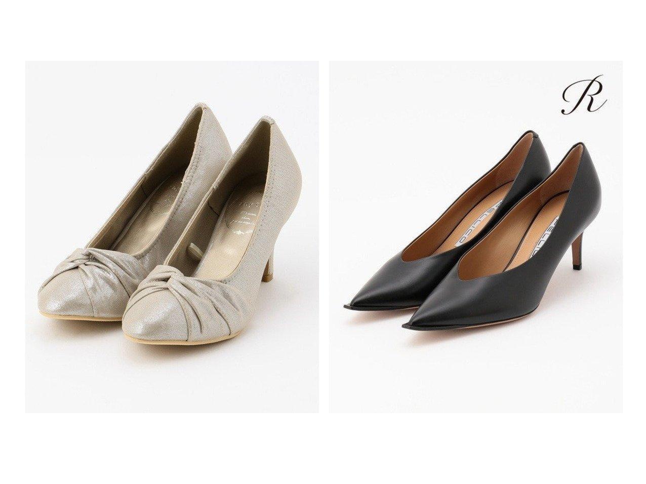 【NIJYUSANKU/23区】の【R(アール)】PELLICO ポインテッド ワイド エッジ パンプス(番号R65)&【any SiS/エニィ スィス】のクロスギャザー パンプス シューズ・靴のおすすめ!人気、トレンド・レディースファッションの通販  おすすめで人気の流行・トレンド、ファッションの通販商品 メンズファッション・キッズファッション・インテリア・家具・レディースファッション・服の通販 founy(ファニー) https://founy.com/ ファッション Fashion レディースファッション WOMEN 送料無料 Free Shipping ギャザー ツイスト パーティ リボン イタリア エレガント コレクション シューズ シンプル スエード スペシャル 人気 フォルム ベーシック ポインテッド ワイド 2020年 2020 2020-2021 秋冬 A/W AW Autumn/Winter / FW Fall-Winter 2020-2021 |ID:crp329100000009860