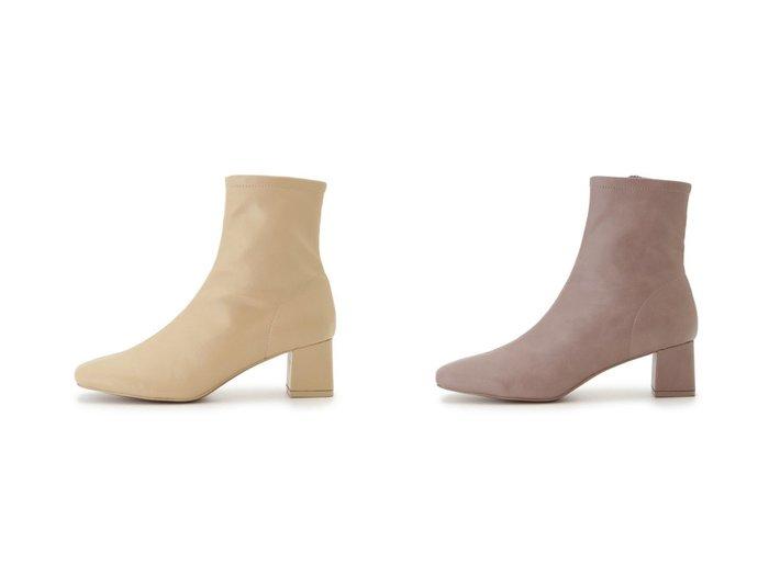 【SNIDEL/スナイデル】のソフトショートブーツ シューズ・靴のおすすめ!人気、トレンド・レディースファッションの通販  おすすめファッション通販アイテム レディースファッション・服の通販 founy(ファニー) ファッション Fashion レディースファッション WOMEN イエロー ショート シンプル センター フィット |ID:crp329100000009864