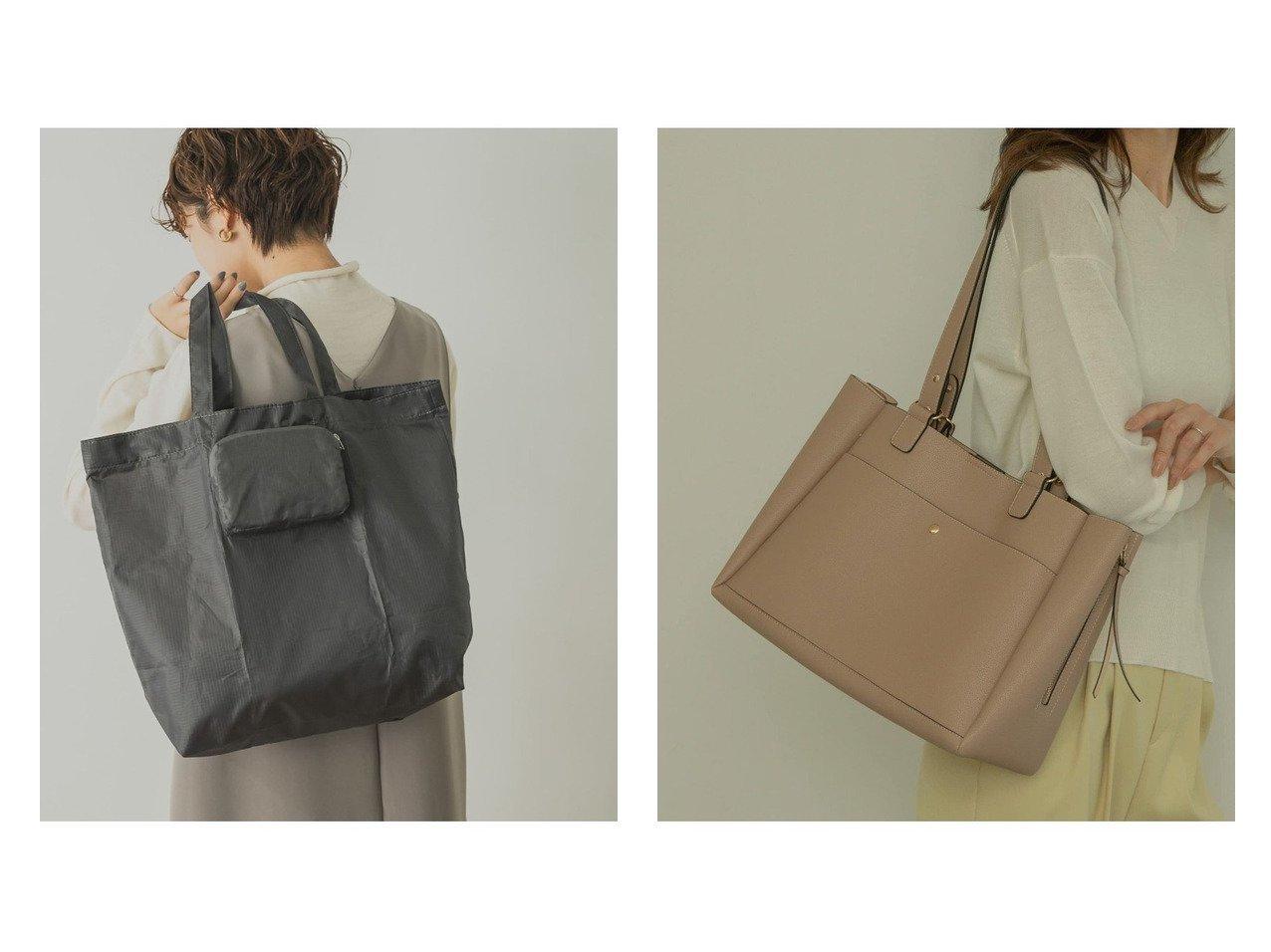 【RODE SKO/ロデスコ】のABRA サイドファスナー2WAYトート&【URBAN RESEARCH/アーバンリサーチ】のYAHKI ECO BAG バッグ・鞄のおすすめ!人気、トレンド・レディースファッションの通販  おすすめで人気の流行・トレンド、ファッションの通販商品 メンズファッション・キッズファッション・インテリア・家具・レディースファッション・服の通販 founy(ファニー) https://founy.com/ ファッション Fashion レディースファッション WOMEN バッグ Bag NEW・新作・新着・新入荷 New Arrivals ポケット マグネット 人気 |ID:crp329100000009893