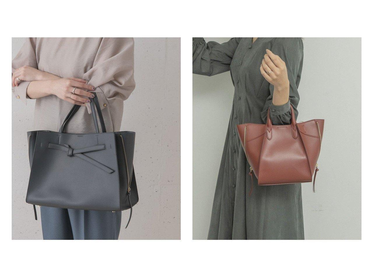 【URBAN RESEARCH ROSSO/アーバンリサーチ ロッソ】のベルトデザイントート&【RODE SKO/ロデスコ】のMARIKKA 2WAYバッグ バッグ・鞄のおすすめ!人気、トレンド・レディースファッションの通販  おすすめで人気の流行・トレンド、ファッションの通販商品 メンズファッション・キッズファッション・インテリア・家具・レディースファッション・服の通販 founy(ファニー) https://founy.com/ ファッション Fashion レディースファッション WOMEN バッグ Bag ベルト Belts NEW・新作・新着・新入荷 New Arrivals コンパクト シンプル ジップ ハンドバッグ |ID:crp329100000009895