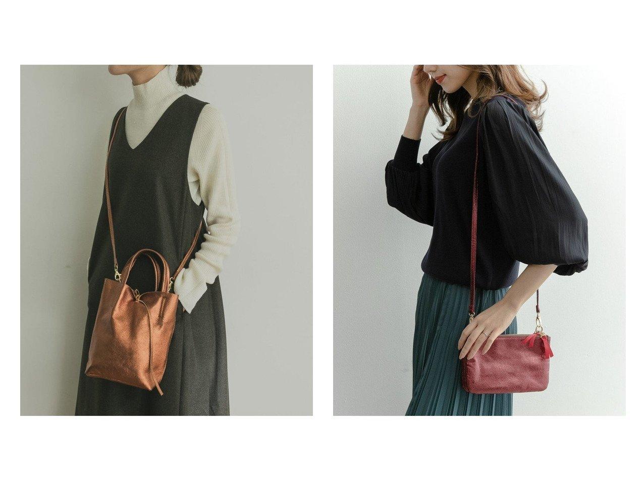 【URBAN RESEARCH/アーバンリサーチ】のAULENTTI LEATHER M TOTE&【RODE SKO/ロデスコ】のMAISA グリッターショルダーバッグ バッグ・鞄のおすすめ!人気、トレンド・レディースファッションの通販  おすすめで人気の流行・トレンド、ファッションの通販商品 メンズファッション・キッズファッション・インテリア・家具・レディースファッション・服の通販 founy(ファニー) https://founy.com/ ファッション Fashion レディースファッション WOMEN バッグ Bag イタリア NEW・新作・新着・新入荷 New Arrivals グリッター コンパクト ポケット |ID:crp329100000009896