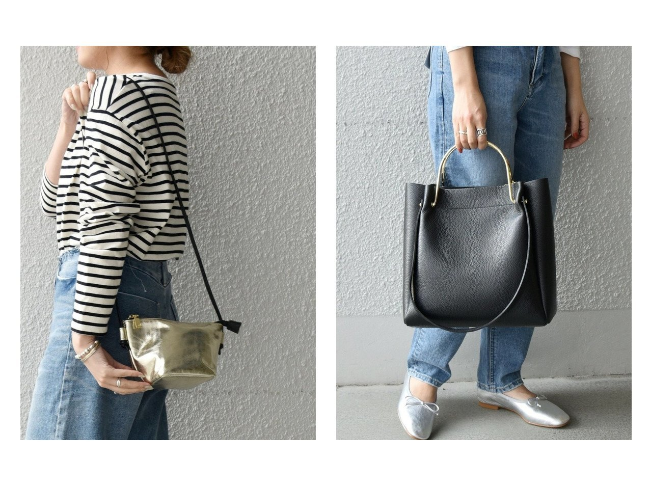 【SHIPS any/シップス エニィ】のMARCO BIANCHINI:ゴールドカラーハンドル2WAYバッグ&SHIPS any: メタリック レザー ショルダーバッグ バッグ・鞄のおすすめ!人気、トレンド・レディースファッションの通販  おすすめで人気の流行・トレンド、ファッションの通販商品 メンズファッション・キッズファッション・インテリア・家具・レディースファッション・服の通販 founy(ファニー) https://founy.com/ ファッション Fashion レディースファッション WOMEN バッグ Bag ショルダー シルバー シンプル ハンドバッグ メタリック フォルム ポーチ |ID:crp329100000009898