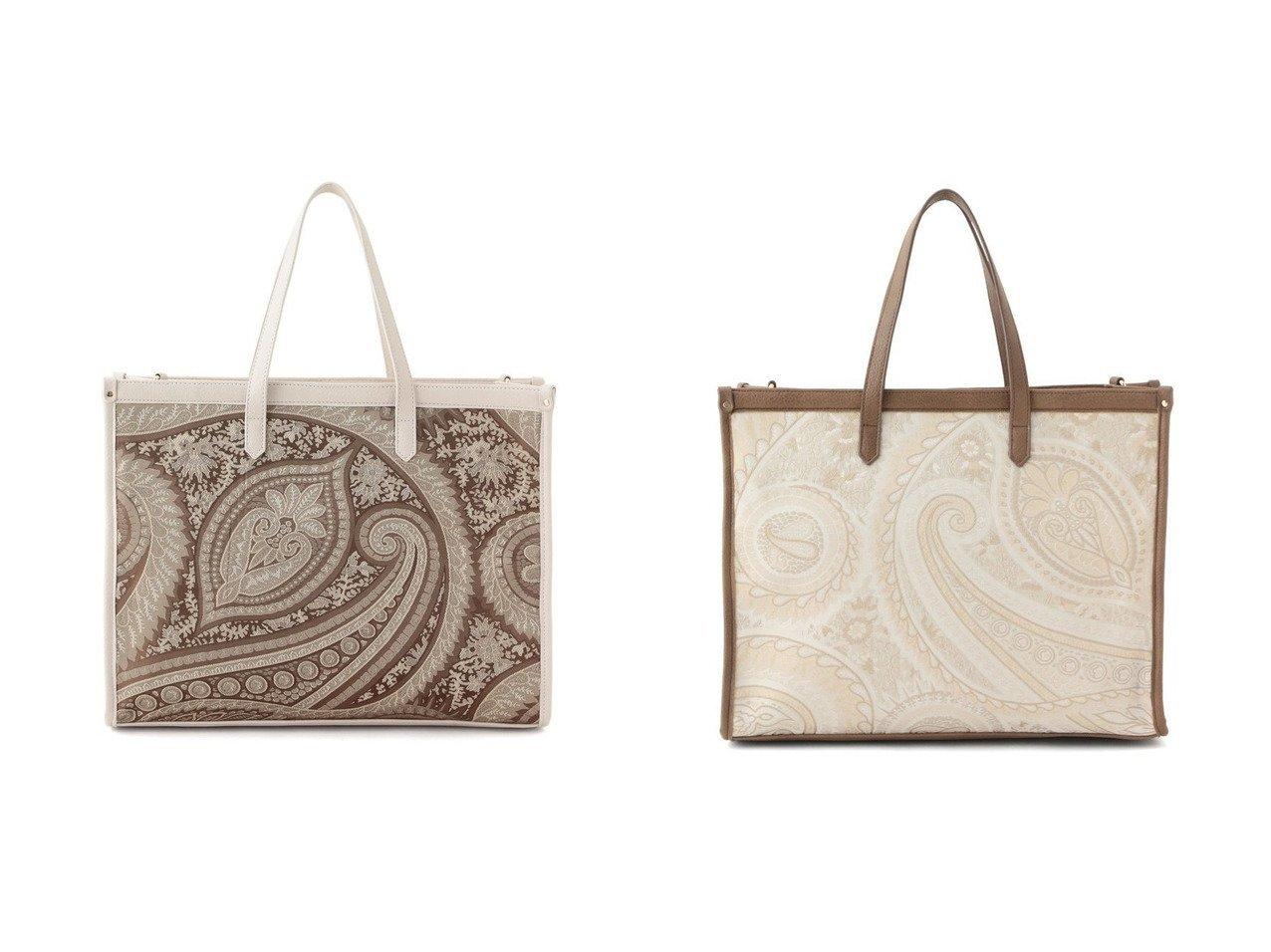 【VIS/ビス】の【2WAY】ファブリックビッグトートバッグ バッグ・鞄のおすすめ!人気、トレンド・レディースファッションの通販  おすすめで人気の流行・トレンド、ファッションの通販商品 メンズファッション・キッズファッション・インテリア・家具・レディースファッション・服の通販 founy(ファニー) https://founy.com/ ファッション Fashion レディースファッション WOMEN バッグ Bag NEW・新作・新着・新入荷 New Arrivals パイピング ペイズリー |ID:crp329100000009899