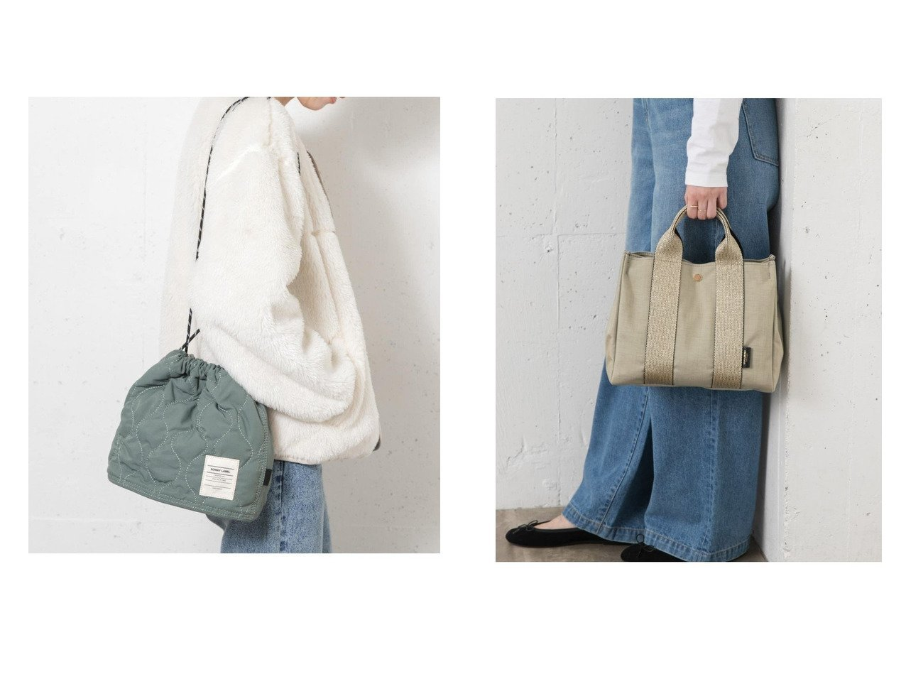 【Sonny Label / URBAN RESEARCH/サニーレーベル】のキルティングドローストリングバッグ&VIOLAd ORO GINO V-2112 バッグ・鞄のおすすめ!人気、トレンド・レディースファッションの通販  おすすめで人気の流行・トレンド、ファッションの通販商品 メンズファッション・キッズファッション・インテリア・家具・レディースファッション・服の通販 founy(ファニー) https://founy.com/ ファッション Fashion レディースファッション WOMEN バッグ Bag キルティング A/W 秋冬 AW Autumn/Winter / FW Fall-Winter ポーチ ラグジュアリー 財布 |ID:crp329100000009907