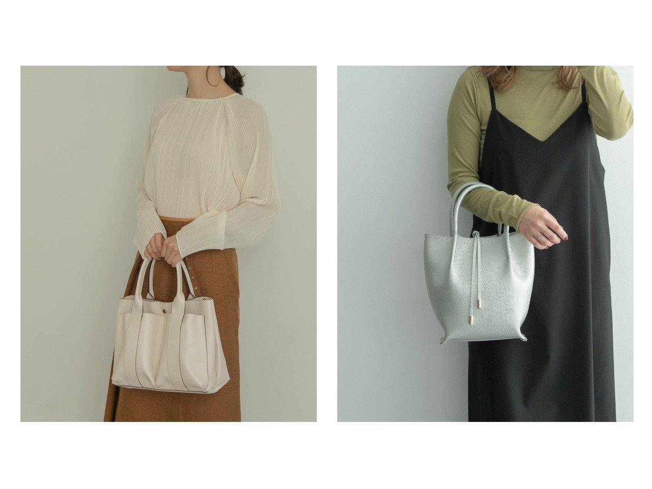 【RODE SKO/ロデスコ】のMIINA ダブルポケットトート&ADORA プチストリング付トートバッグ バッグ・鞄のおすすめ!人気、トレンド・レディースファッションの通販  おすすめで人気の流行・トレンド、ファッションの通販商品 メンズファッション・キッズファッション・インテリア・家具・レディースファッション・服の通販 founy(ファニー) https://founy.com/ ファッション Fashion レディースファッション WOMEN バッグ Bag NEW・新作・新着・新入荷 New Arrivals シンプル スマート ポケット ポーチ コンパクト ストリング |ID:crp329100000009912