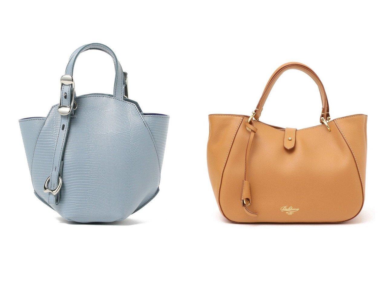 【Demi-Luxe BEAMS/デミルクス ビームス】のTOFF& ミニ ヘプタゴン バッグ&【SHIPS/シップス フォー ウィメン】のBoldrini Selleria:ラウンドトート バッグ・鞄のおすすめ!人気、トレンド・レディースファッションの通販  おすすめで人気の流行・トレンド、ファッションの通販商品 メンズファッション・キッズファッション・インテリア・家具・レディースファッション・服の通販 founy(ファニー) https://founy.com/ ファッション Fashion レディースファッション WOMEN バッグ Bag コンパクト スタイリッシュ フォルム モダン 人気 定番 イタリア クラシカル ショルダー |ID:crp329100000009913