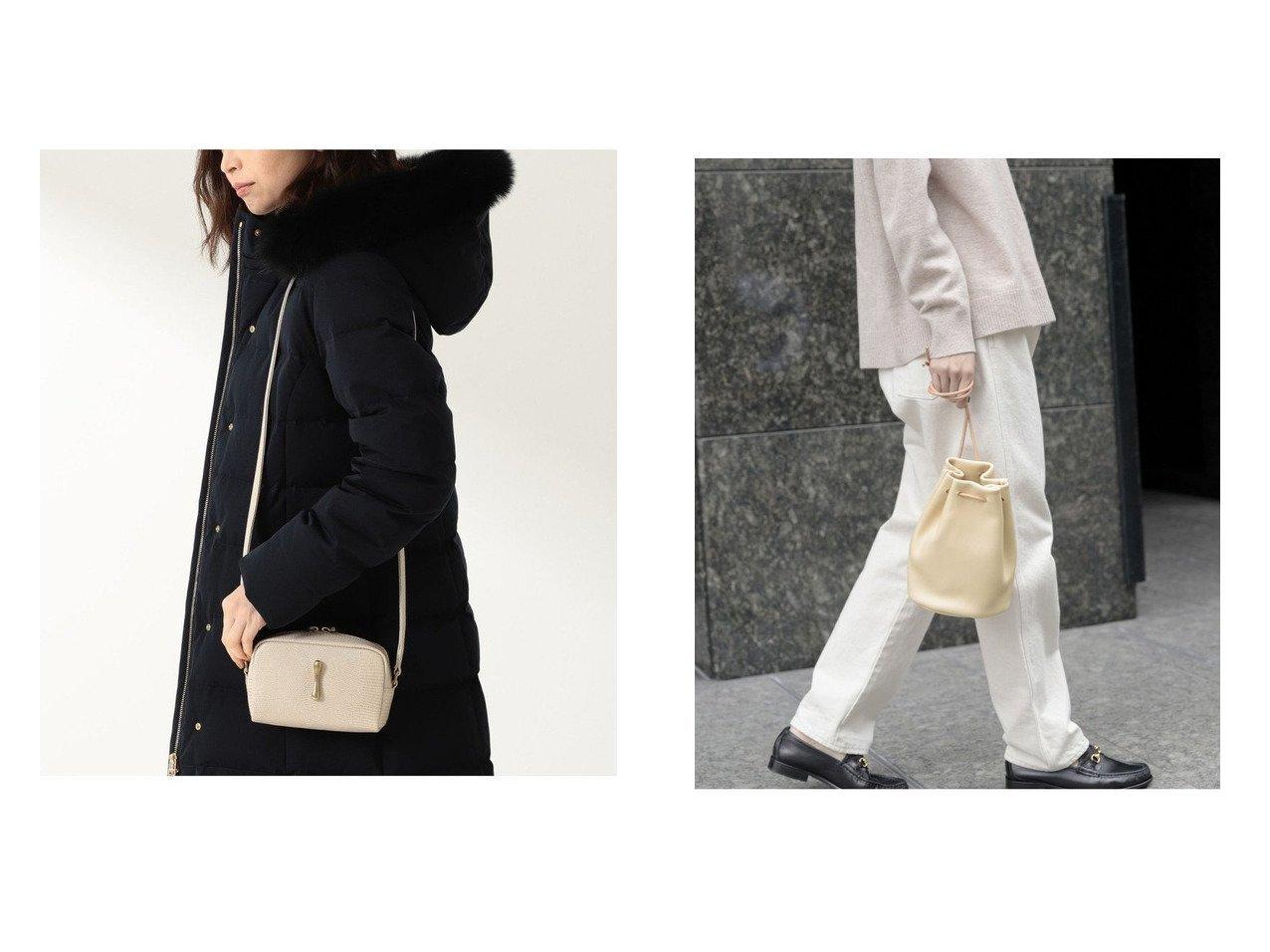 【kagure/かぐれ】のMORMYRUS bag&【Demi-Luxe BEAMS/デミルクス ビームス】のTOFF& レヴューリザード ミニショルダーバッグ バッグ・鞄のおすすめ!人気、トレンド・レディースファッションの通販  おすすめで人気の流行・トレンド、ファッションの通販商品 メンズファッション・キッズファッション・インテリア・家具・レディースファッション・服の通販 founy(ファニー) https://founy.com/ ファッション Fashion レディースファッション WOMEN バッグ Bag アクセサリー クラシック スタイリッシュ センター 人気 バランス フロント モダン ハンドバッグ ポーチ 巾着 財布 |ID:crp329100000009916
