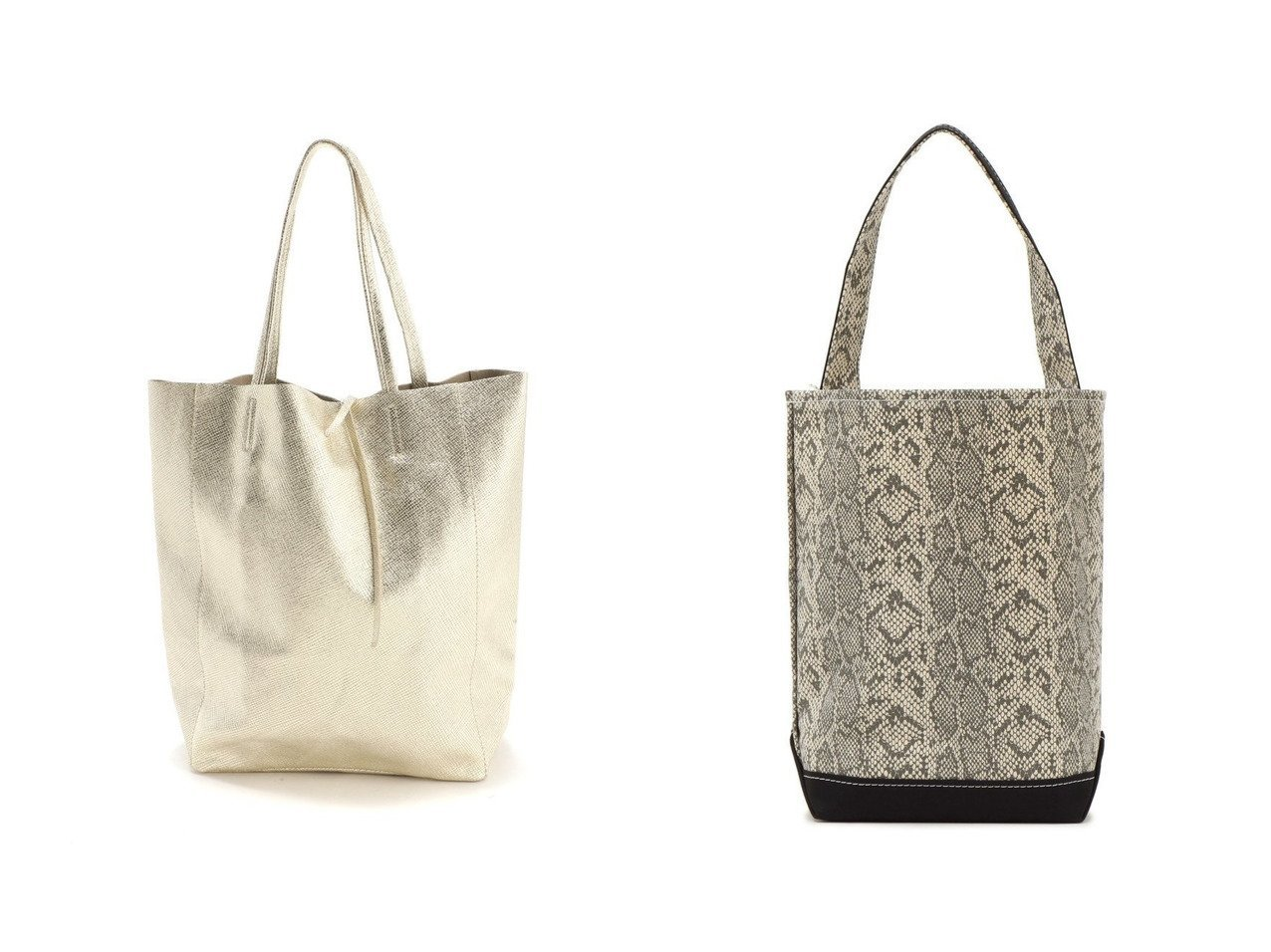【SHIPS/シップス フォー ウィメン】のTEMBEA:バゲットトート&【MARLON FIRENZE/マーロンフィレンツェ】のSHOPPER IGUANA LAMINATO:バッグ バッグ・鞄のおすすめ!人気、トレンド・レディースファッションの通販  おすすめで人気の流行・トレンド、ファッションの通販商品 メンズファッション・キッズファッション・インテリア・家具・レディースファッション・服の通販 founy(ファニー) https://founy.com/ ファッション Fashion レディースファッション WOMEN バッグ Bag 2020年 2020 2020-2021 秋冬 A/W AW Autumn/Winter / FW Fall-Winter 2020-2021 A/W 秋冬 AW Autumn/Winter / FW Fall-Winter アクセサリー イタリア ショルダー パイソン プリント 人気 |ID:crp329100000009917