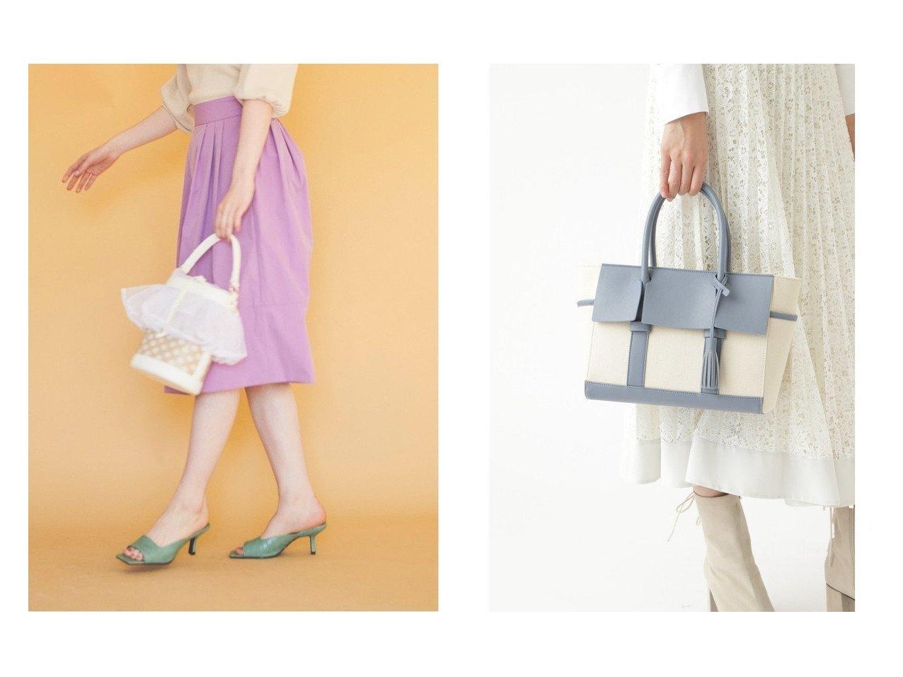 【31 Sons de mode/トランテアン ソン ドゥ モード】のシアーフリルパンチングバケツバッグ&【JILLSTUART/ジルスチュアート】のレオナトートバッグ バッグ・鞄のおすすめ!人気、トレンド・レディースファッションの通販  おすすめで人気の流行・トレンド、ファッションの通販商品 メンズファッション・キッズファッション・インテリア・家具・レディースファッション・服の通販 founy(ファニー) https://founy.com/ ファッション Fashion レディースファッション WOMEN バッグ Bag 2021年 2021 2021 春夏 S/S SS Spring/Summer 2021 S/S 春夏 SS Spring/Summer オーガンジー ショルダー バケツ フリル 巾着 フラップ フロント ポケット マグネット |ID:crp329100000009919