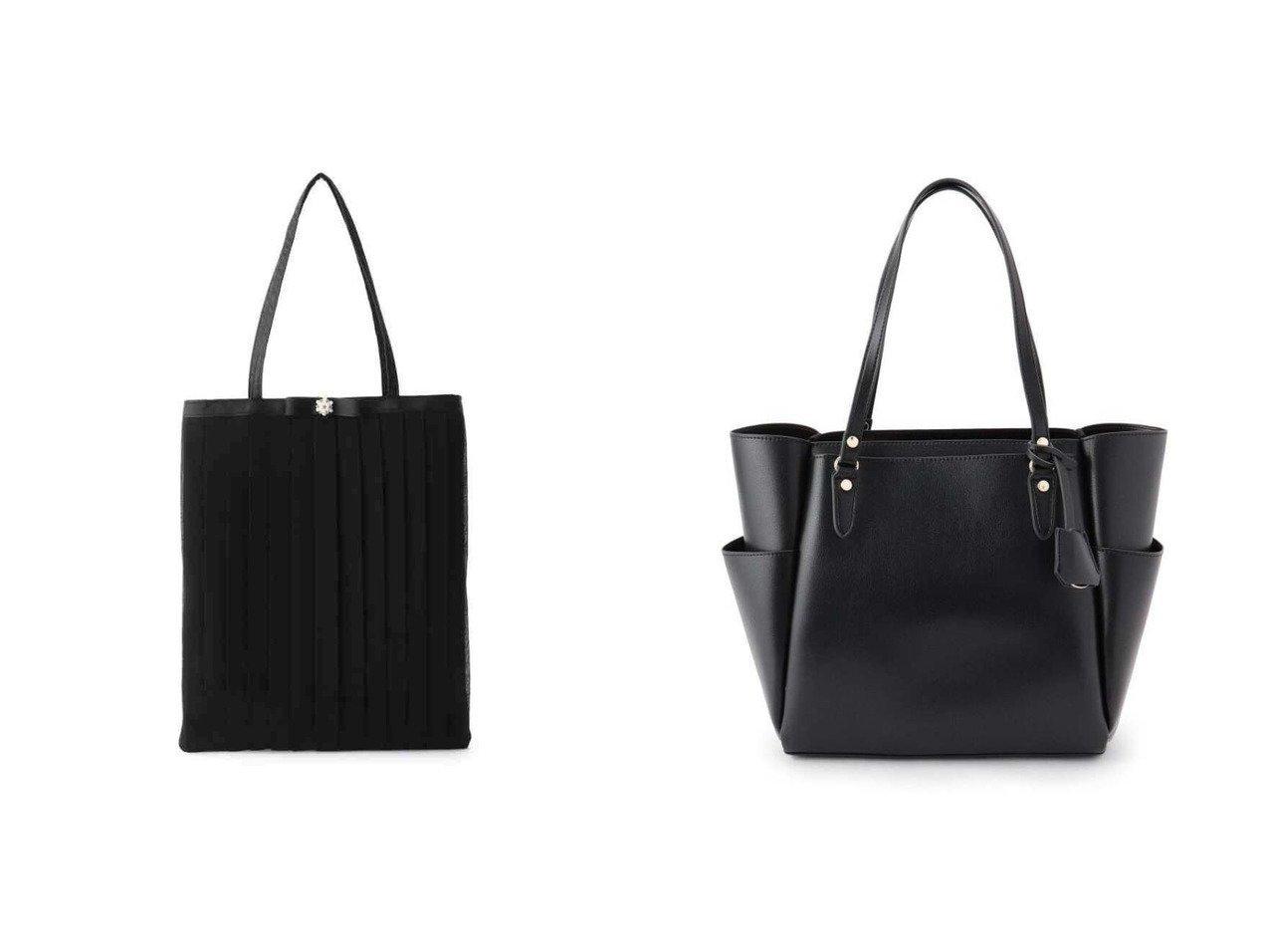 【SHOO LA RUE/シューラルー】の【ママスーツ/入卒/通勤/A4サイズ対応】多収納トート&【UNTITLED/アンタイトル】のオケージョンサブバッグ バッグ・鞄のおすすめ!人気、トレンド・レディースファッションの通販  おすすめで人気の流行・トレンド、ファッションの通販商品 メンズファッション・キッズファッション・インテリア・家具・レディースファッション・服の通販 founy(ファニー) https://founy.com/ ファッション Fashion レディースファッション WOMEN バッグ Bag スーツ Suits トートバッグ Tote Bags NEW・新作・新着・新入荷 New Arrivals トリミング フォーマル レース ウォーター シンプル スーツ フェイクレザー ポケット メタル 軽量 |ID:crp329100000009924
