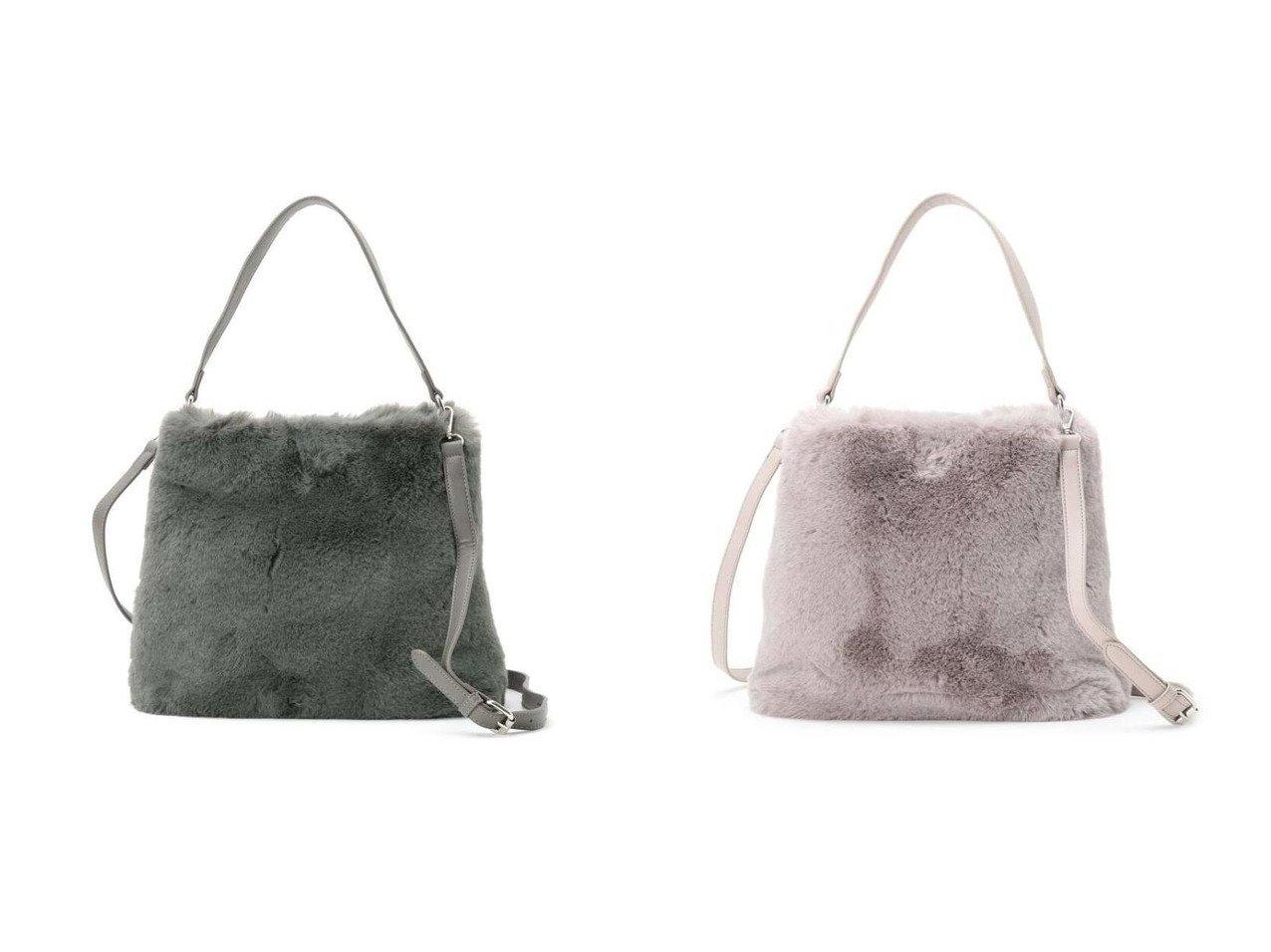 【Reflect/リフレクト】のエコファーバッグ バッグ・鞄のおすすめ!人気、トレンド・レディースファッションの通販  おすすめで人気の流行・トレンド、ファッションの通販商品 メンズファッション・キッズファッション・インテリア・家具・レディースファッション・服の通販 founy(ファニー) https://founy.com/ ファッション Fashion レディースファッション WOMEN バッグ Bag ダウン 冬 Winter  ID:crp329100000009930
