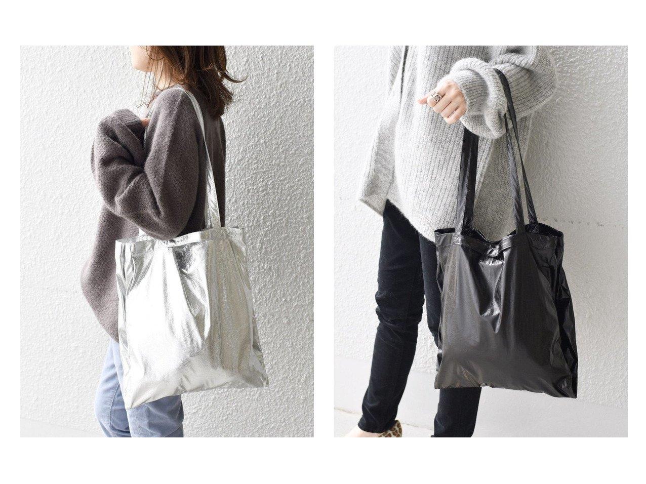 【SHIPS/シップス フォー ウィメン】の《追加予約》メタリック3パーテーションエコバッグ バッグ・鞄のおすすめ!人気、トレンド・レディースファッションの通販  おすすめで人気の流行・トレンド、ファッションの通販商品 メンズファッション・キッズファッション・インテリア・家具・レディースファッション・服の通販 founy(ファニー) https://founy.com/ ファッション Fashion レディースファッション WOMEN バッグ Bag ショルダー メタリック  ID:crp329100000009931
