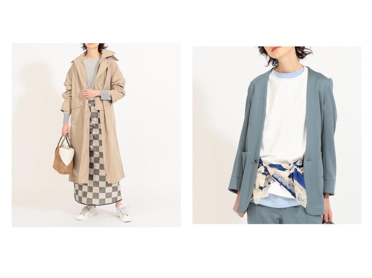 【BEAMS BOY/ビームス ボーイ】のMemory Over Coat&Stitch Engineer Jacket アウターのおすすめ!人気、トレンド・レディースファッションの通販  おすすめで人気の流行・トレンド、ファッションの通販商品 メンズファッション・キッズファッション・インテリア・家具・レディースファッション・服の通販 founy(ファニー) https://founy.com/ ファッション Fashion レディースファッション WOMEN アウター Coat Outerwear コート Coats ジャケット Jackets ダッフルコート Duffle Coats テーラードジャケット Tailored Jackets コンパクト ジャケット ダッフルコート ロング スラックス セットアップ |ID:crp329100000009962