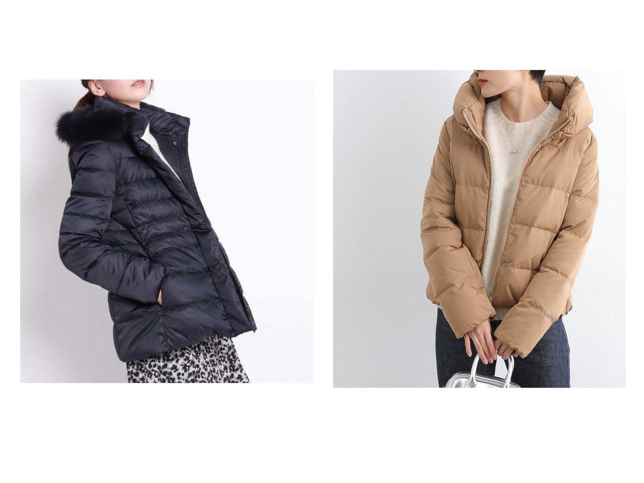 【COUP DE CHANCE/クード シャンス】のマルチダウンコート&【Adam et Rope Le Magasin/アダム エ ロペ ル マガザン】のピーチスキンダウン アウターのおすすめ!人気、トレンド・レディースファッションの通販  おすすめで人気の流行・トレンド、ファッションの通販商品 メンズファッション・キッズファッション・インテリア・家具・レディースファッション・服の通販 founy(ファニー) https://founy.com/ ファッション Fashion レディースファッション WOMEN アウター Coat Outerwear コート Coats ジャケット Jackets ダウン Down Coats And Jackets ジャケット ダウン フェイクファー ポケット 防寒 |ID:crp329100000010004