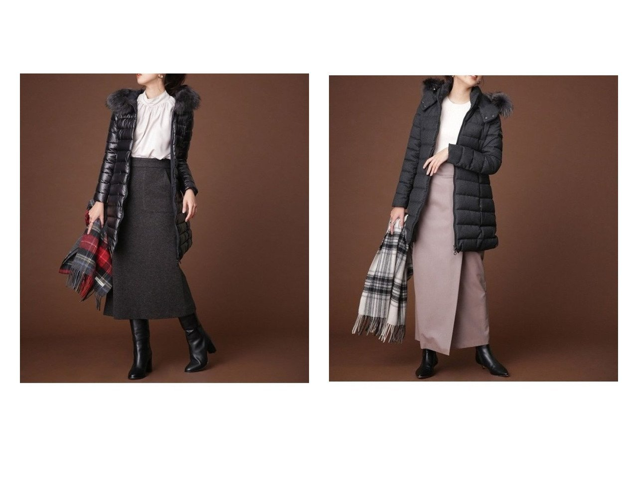 【TATRAS/タトラス】のISERA&LAVIANA アウターのおすすめ!人気、トレンド・レディースファッションの通販  おすすめで人気の流行・トレンド、ファッションの通販商品 メンズファッション・キッズファッション・インテリア・家具・レディースファッション・服の通販 founy(ファニー) https://founy.com/ ファッション Fashion レディースファッション WOMEN アウター Coat Outerwear コート Coats ジャケット Jackets イタリア エレガント シャイニー ジャケット ダウン ダブル ミラノ ラグジュアリー リバーシブル ロング ワイド A/W 秋冬 AW Autumn/Winter / FW Fall-Winter |ID:crp329100000010005