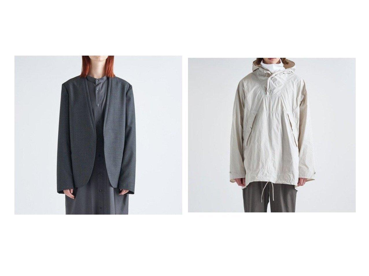 【ATON/エイトン】のミリタリーパーカー(UNISEX)&タキシードカラージャケット(UNISEX) アウターのおすすめ!人気、トレンド・レディースファッションの通販  おすすめで人気の流行・トレンド、ファッションの通販商品 メンズファッション・キッズファッション・インテリア・家具・レディースファッション・服の通販 founy(ファニー) https://founy.com/ ファッション Fashion レディースファッション WOMEN アウター Coat Outerwear ジャケット Jackets カーディガン ジャケット パイピング フォーム ポケット UNISEX 送料無料 Free Shipping |ID:crp329100000010055