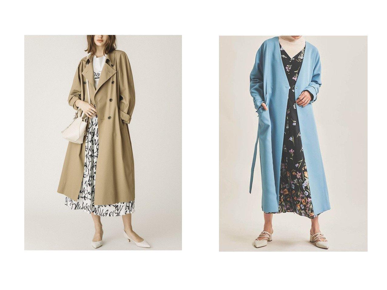 【The Virgnia/ザ ヴァージニア】のスプリングカラーガウンコート&【allureville/アルアバイル】のハイツイストツイルトレンチコート アウターのおすすめ!人気、トレンド・レディースファッションの通販  おすすめで人気の流行・トレンド、ファッションの通販商品 メンズファッション・キッズファッション・インテリア・家具・レディースファッション・服の通販 founy(ファニー) https://founy.com/ ファッション Fashion レディースファッション WOMEN アウター Coat Outerwear コート Coats トレンチコート Trench Coats 2020年 2020 2020-2021 秋冬 A/W AW Autumn/Winter / FW Fall-Winter 2020-2021 2021年 2021 2021 春夏 S/S SS Spring/Summer 2021 バランス フェミニン ロング 春 A/W 秋冬 AW Autumn/Winter / FW Fall-Winter |ID:crp329100000010065
