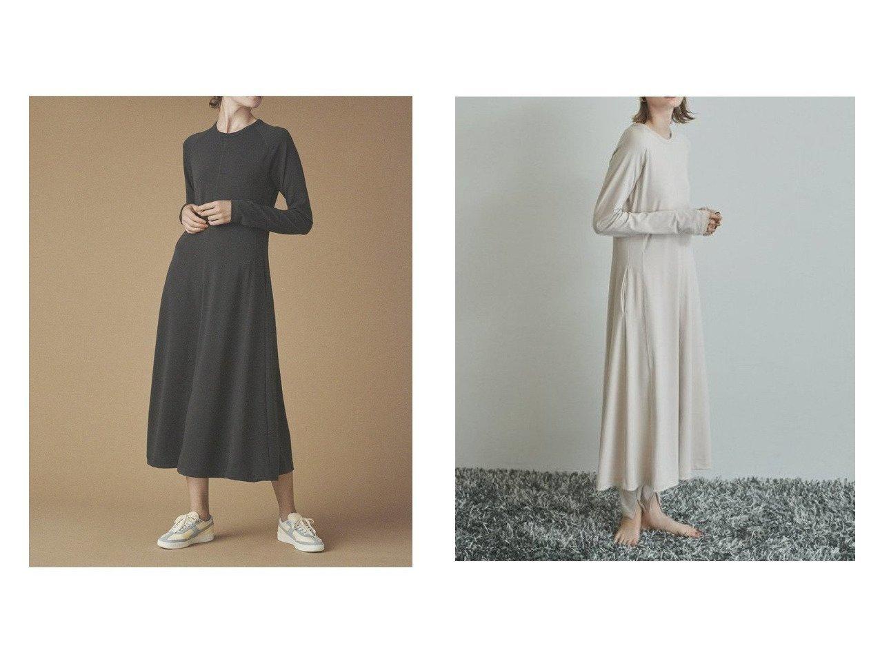 【emmi/エミ】の【emmi atelier】リラックス機能ワンピ ワンピース・ドレスのおすすめ!人気、トレンド・レディースファッションの通販  おすすめで人気の流行・トレンド、ファッションの通販商品 メンズファッション・キッズファッション・インテリア・家具・レディースファッション・服の通販 founy(ファニー) https://founy.com/ ファッション Fashion レディースファッション WOMEN ワンピース Dress マキシワンピース Maxi Dress ウォッシャブル スリット マキシ リラックス ロング 吸水 |ID:crp329100000010096