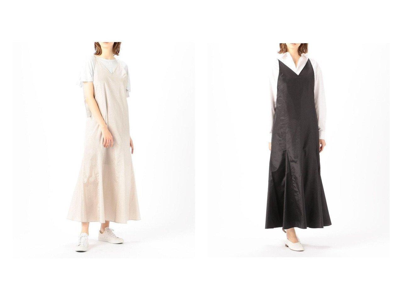 【EDITION / TOMORROWLAND/エディション 】のC LIGHT TAFFETA ポリエステルコットン パネルキャミソールワンピース ワンピース・ドレスのおすすめ!人気、トレンド・レディースファッションの通販  おすすめで人気の流行・トレンド、ファッションの通販商品 メンズファッション・キッズファッション・インテリア・家具・レディースファッション・服の通販 founy(ファニー) https://founy.com/ ファッション Fashion レディースファッション WOMEN ワンピース Dress NEW・新作・新着・新入荷 New Arrivals 2021年 2021 2021 春夏 S/S SS Spring/Summer 2021 S/S 春夏 SS Spring/Summer カッティング タフタ デニム ドレス ドレープ フレア マーメイド |ID:crp329100000010102