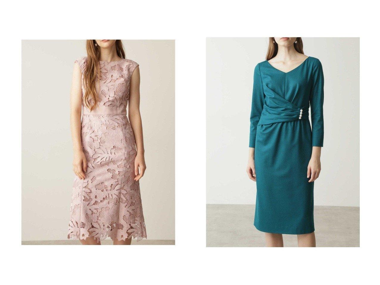 【Pinky&Dianne/ピンキーアンドダイアン】のフラワーケミカルレースマーメイドワンピース&バランサーパールワンピース ワンピース・ドレスのおすすめ!人気、トレンド・レディースファッションの通販  おすすめで人気の流行・トレンド、ファッションの通販商品 メンズファッション・キッズファッション・インテリア・家具・レディースファッション・服の通販 founy(ファニー) https://founy.com/ ファッション Fashion レディースファッション WOMEN ワンピース Dress エレガント ケミカル スマート フラワー モチーフ レース アシンメトリー ジャージ パール  ID:crp329100000010164