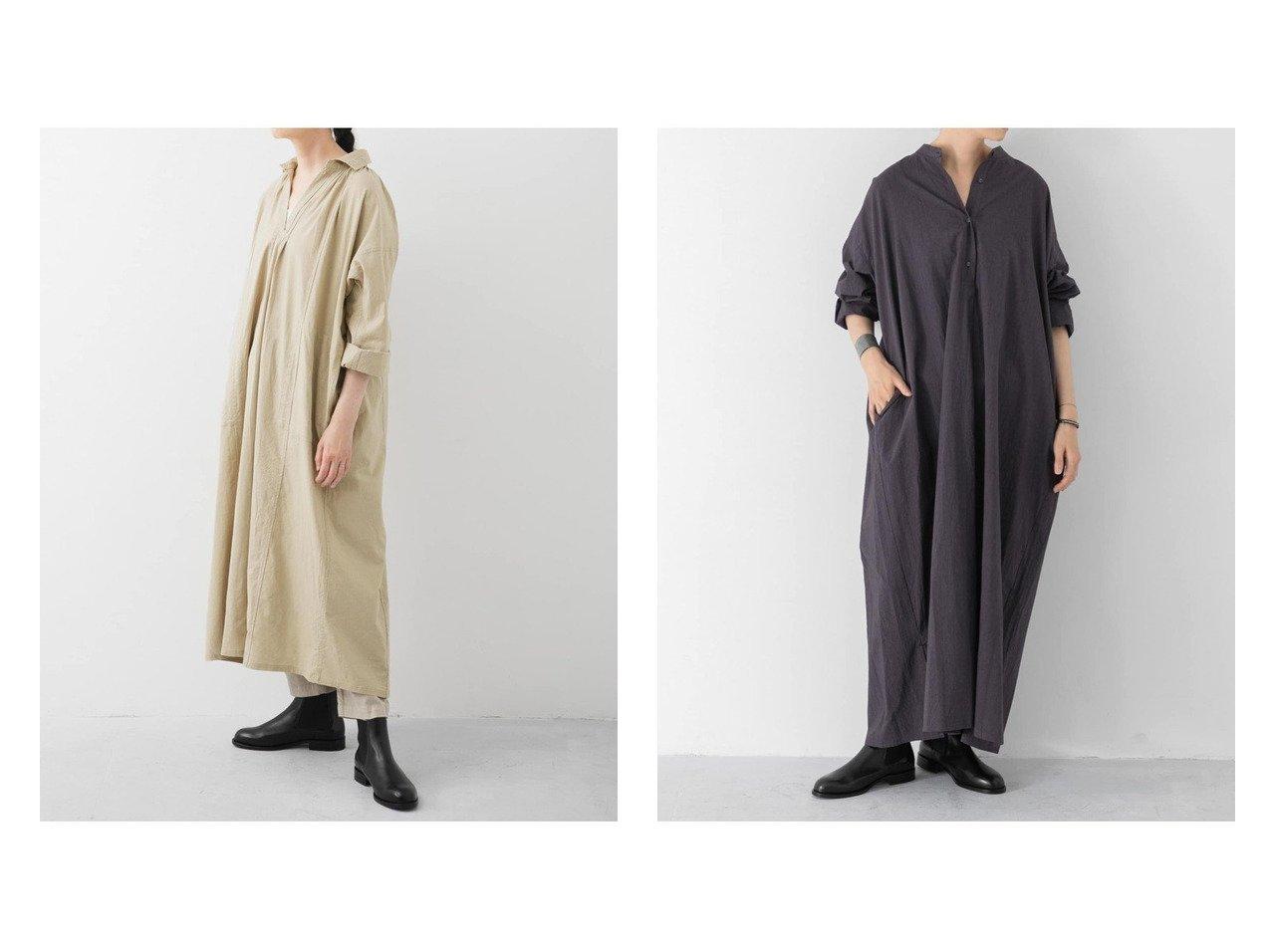 【kagure/かぐれ】のスタンドワイドシャツワンピース&グランパシャツワンピース ワンピース・ドレスのおすすめ!人気、トレンド・レディースファッションの通販  おすすめで人気の流行・トレンド、ファッションの通販商品 メンズファッション・キッズファッション・インテリア・家具・レディースファッション・服の通販 founy(ファニー) https://founy.com/ ファッション Fashion レディースファッション WOMEN ワンピース Dress シャツワンピース Shirt Dresses インド インナー モチーフ レギンス なめらか スタンド マキシ ワイド |ID:crp329100000010171