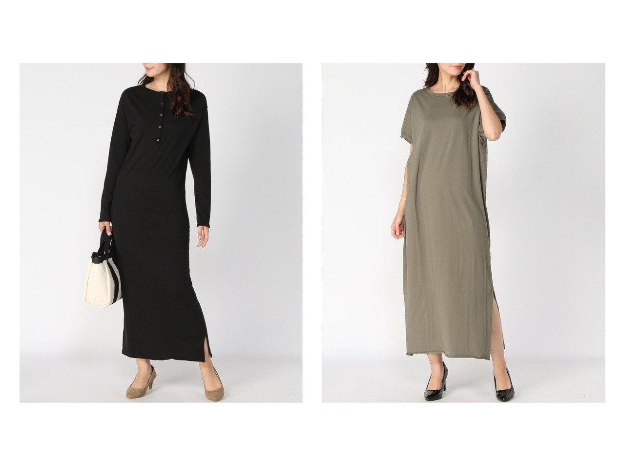 【Plage/プラージュ】のネップカットOP&【CALUX/キャラクス】のSIDE SLIT OP ワンピース・ドレスのおすすめ!人気、トレンド・レディースファッションの通販  おすすめで人気の流行・トレンド、ファッションの通販商品 メンズファッション・キッズファッション・インテリア・家具・レディースファッション・服の通販 founy(ファニー) https://founy.com/ ファッション Fashion レディースファッション WOMEN ワンピース Dress マキシワンピース Maxi Dress 2020年 2020 2020-2021 秋冬 A/W AW Autumn/Winter / FW Fall-Winter 2020-2021 A/W 秋冬 AW Autumn/Winter / FW Fall-Winter エレガント ネップ フィット マキシ リラックス ロング カットソー シンプル スリット 人気 半袖 |ID:crp329100000010179