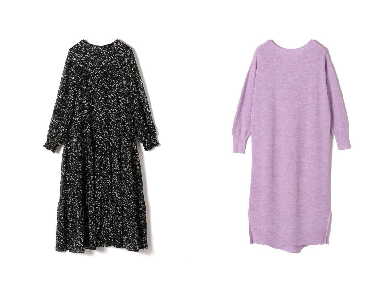 【SHIPS/シップス フォー ウィメン】のシアードットティアードワンピース&16G 2WAYワンピース ワンピース・ドレスのおすすめ!人気、トレンド・レディースファッションの通販  おすすめで人気の流行・トレンド、ファッションの通販商品 メンズファッション・キッズファッション・インテリア・家具・レディースファッション・服の通販 founy(ファニー) https://founy.com/ ファッション Fashion レディースファッション WOMEN ワンピース Dress ニットワンピース Knit Dresses カーディガン シフォン ティアード ドット バランス ランダム レギンス ロング 冬 Winter 長袖 シンプル スキッパー |ID:crp329100000010183
