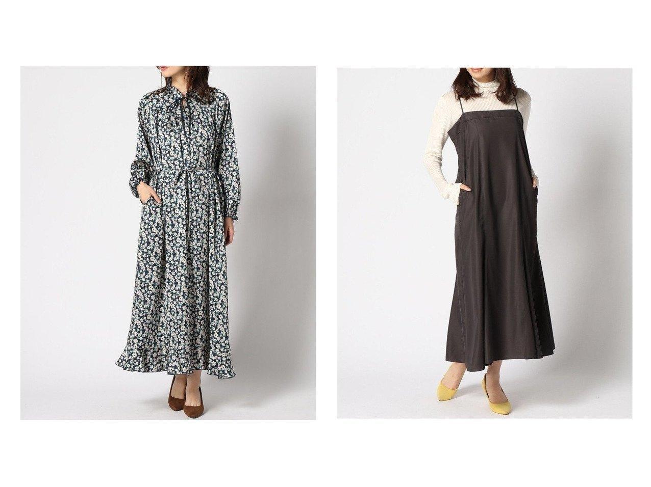 【IENA/イエナ】のフレアデザイン キャミOP&【SLOBE IENA/スローブ イエナ】のアリッサムフラワー フレアOP ワンピース・ドレスのおすすめ!人気、トレンド・レディースファッションの通販  おすすめで人気の流行・トレンド、ファッションの通販商品 メンズファッション・キッズファッション・インテリア・家具・レディースファッション・服の通販 founy(ファニー) https://founy.com/ ファッション Fashion レディースファッション WOMEN ワンピース Dress キャミワンピース No Sleeve Dresses 2020年 2020 2020-2021 秋冬 A/W AW Autumn/Winter / FW Fall-Winter 2020-2021 A/W 秋冬 AW Autumn/Winter / FW Fall-Winter スタンド フェミニン フリル フレア プリント ポケット ミックス リボン 長袖 インナー キャミ キャミワンピース ジャケット |ID:crp329100000010193
