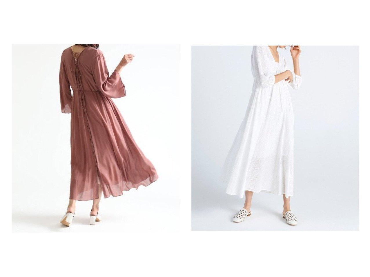 【FRAY I.D/フレイ アイディー】のコットンレースOP&2WAY羽織りワンピース ワンピース・ドレスのおすすめ!人気、トレンド・レディースファッションの通販  おすすめで人気の流行・トレンド、ファッションの通販商品 メンズファッション・キッズファッション・インテリア・家具・レディースファッション・服の通販 founy(ファニー) https://founy.com/ ファッション Fashion レディースファッション WOMEN ワンピース Dress マキシワンピース Maxi Dress マキシ ヨガ リラックス レース ロング インナー ギャザー スリーブ フィット ラベンダー 春 |ID:crp329100000010206