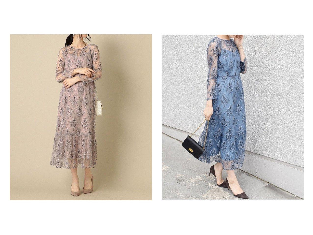 【SHIPS/シップス フォー ウィメン】のlittleblack:レースフレアワンピース《パーティー用》 ワンピース・ドレスのおすすめ!人気、トレンド・レディースファッションの通販  おすすめで人気の流行・トレンド、ファッションの通販商品 メンズファッション・キッズファッション・インテリア・家具・レディースファッション・服の通販 founy(ファニー) https://founy.com/ ファッション Fashion レディースファッション WOMEN ワンピース Dress シャツワンピース Shirt Dresses フレア レース ロング  ID:crp329100000010215
