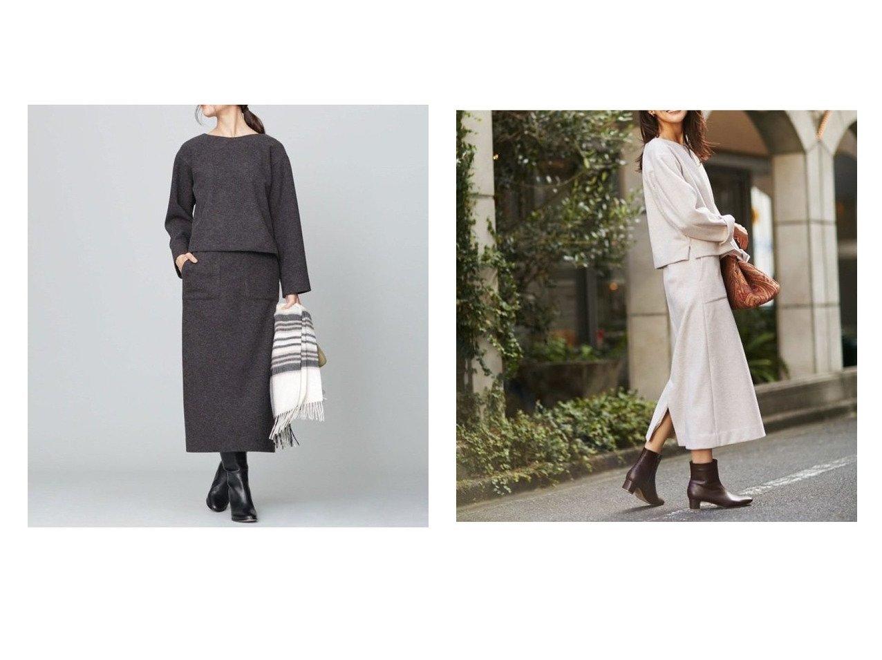【nano universe/ナノ ユニバース】のテックメルトンセットアップ ワンピース・ドレスのおすすめ!人気、トレンド・レディースファッションの通販  おすすめで人気の流行・トレンド、ファッションの通販商品 メンズファッション・キッズファッション・インテリア・家具・レディースファッション・服の通販 founy(ファニー) https://founy.com/ ファッション Fashion レディースファッション WOMEN トップス Tops Tshirt シャツ/ブラウス Shirts Blouses ロング / Tシャツ T-Shirts カットソー Cut and Sewn カットソー ショルダー ジャージー ストレッチ スリット セットアップ ドロップ バランス フォルム ポケット NEW・新作・新着・新入荷 New Arrivals  ID:crp329100000010222