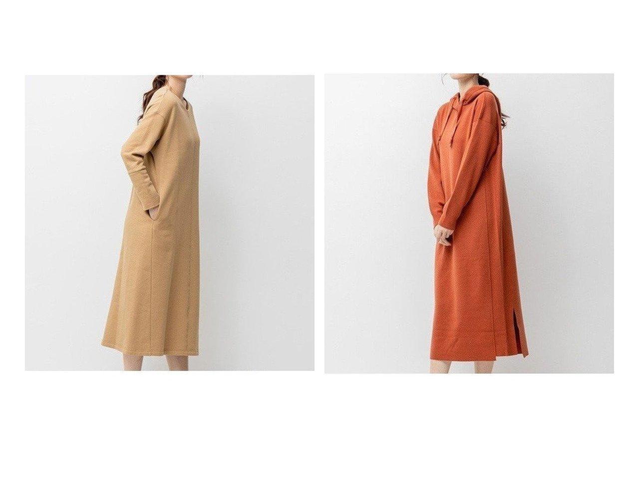 【JIYU-KU/自由区】の【UNFILO】イージー スウェット ワンピース&【UNFILO】ウールブレンドスムース ワンピース ワンピース・ドレスのおすすめ!人気、トレンド・レディースファッションの通販  おすすめで人気の流行・トレンド、ファッションの通販商品 メンズファッション・キッズファッション・インテリア・家具・レディースファッション・服の通販 founy(ファニー) https://founy.com/ ファッション Fashion レディースファッション WOMEN ワンピース Dress 送料無料 Free Shipping ショルダー ジャージー スウェット ドロップ ウォーム パーカー ロング 人気 抗菌 春 Spring 秋 Autumn/Fall  ID:crp329100000010225