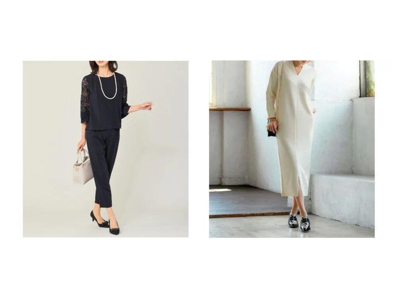 【any FAM/エニィファム】のエステルソフトストレッチ&【STYLE DELI/スタイルデリ】のロング丈リラックスVネックワンピースD ワンピース・ドレスのおすすめ!人気、トレンド・レディースファッションの通販  おすすめで人気の流行・トレンド、ファッションの通販商品 メンズファッション・キッズファッション・インテリア・家具・レディースファッション・服の通販 founy(ファニー) https://founy.com/ ファッション Fashion レディースファッション WOMEN ワンピース Dress オールインワン ワンピース All In One Dress サロペット Salopette ストレッチ セットアップ 人気 フェミニン フロント レース カットソー コクーン シューズ ショルダー シンプル ジャージー スニーカー スリット タイツ ドロップ 長袖 フラット ペチコート ポケット リラックス ロング 冬 Winter A/W 秋冬 AW Autumn/Winter / FW Fall-Winter 2020年 2020 |ID:crp329100000010233