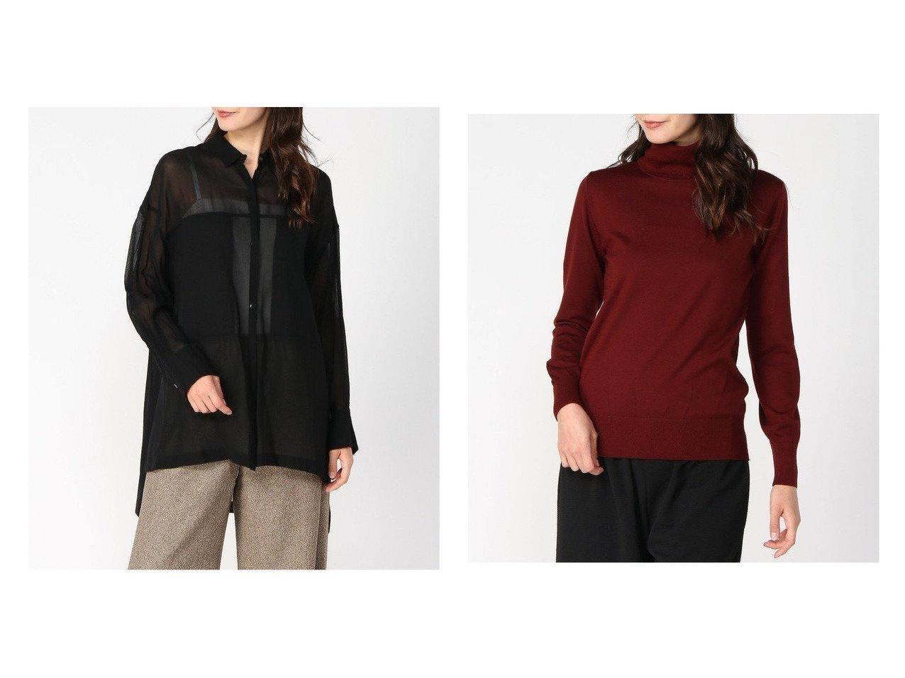 【Plage/プラージュ】のRIAM オーガンジー SHIRT&【VERMEIL par iena/ヴェルメイユ パー イエナ】のSLOANE 30GG タートル トップス・カットソーのおすすめ!人気、トレンド・レディースファッションの通販  おすすめで人気の流行・トレンド、ファッションの通販商品 メンズファッション・キッズファッション・インテリア・家具・レディースファッション・服の通販 founy(ファニー) https://founy.com/ ファッション Fashion レディースファッション WOMEN トップス Tops Tshirt シャツ/ブラウス Shirts Blouses ニット Knit Tops 2020年 2020 2020-2021 秋冬 A/W AW Autumn/Winter / FW Fall-Winter 2020-2021 A/W 秋冬 AW Autumn/Winter / FW Fall-Winter オーガンジー ジュエリー バランス 長袖 インナー サロペット タートル タートルネック 人気 ベーシック |ID:crp329100000010354