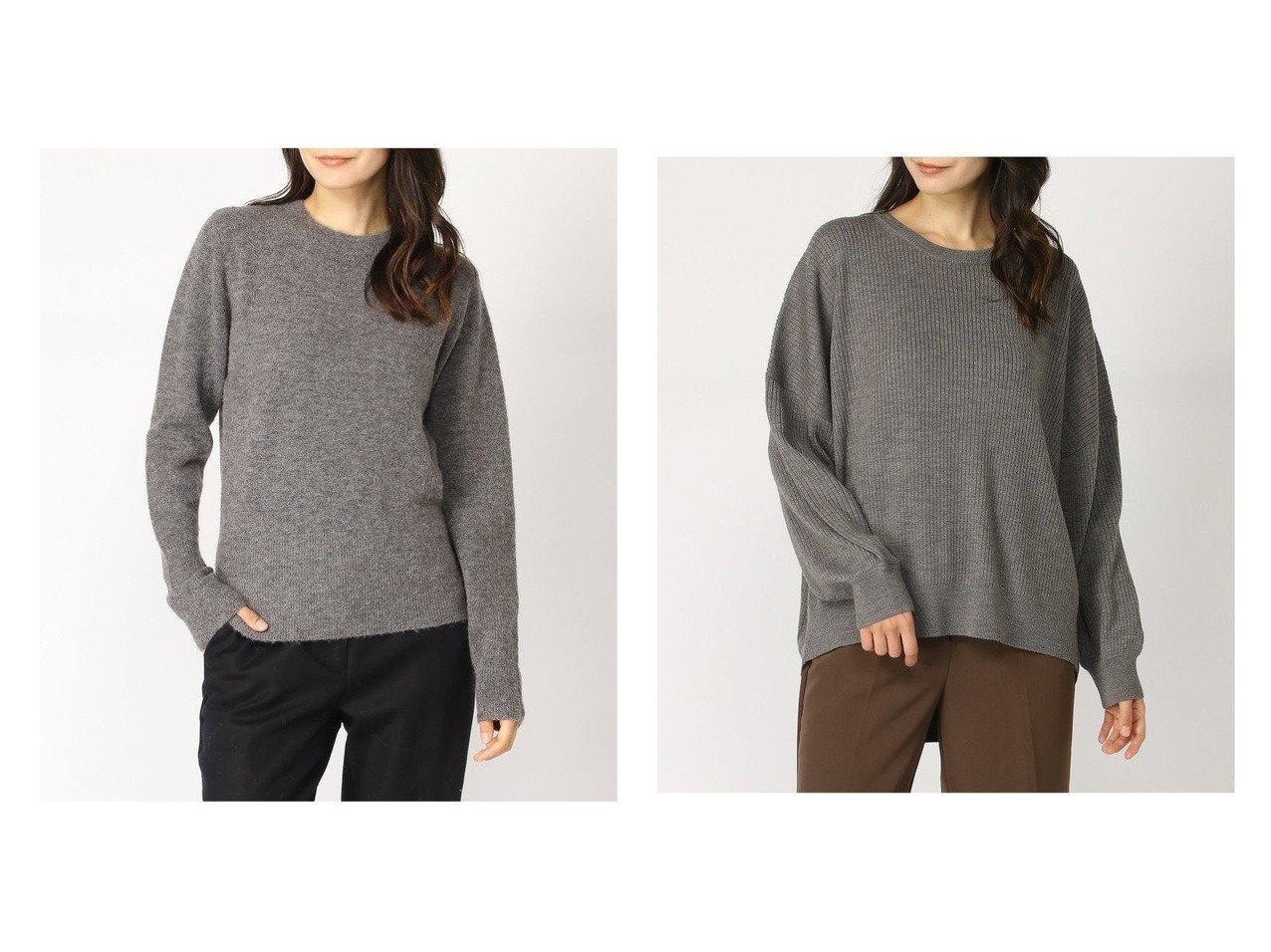【IENA/イエナ】のO&【SLOBE IENA/スローブ イエナ】のリブ PO トップス・カットソーのおすすめ!人気、トレンド・レディースファッションの通販  おすすめで人気の流行・トレンド、ファッションの通販商品 メンズファッション・キッズファッション・インテリア・家具・レディースファッション・服の通販 founy(ファニー) https://founy.com/ ファッション Fashion レディースファッション WOMEN トップス Tops Tshirt ニット Knit Tops 2020年 2020 2020-2021 秋冬 A/W AW Autumn/Winter / FW Fall-Winter 2020-2021 A/W 秋冬 AW Autumn/Winter / FW Fall-Winter エレガント コンパクト ストレッチ フラット ワイド 長袖  ID:crp329100000010372