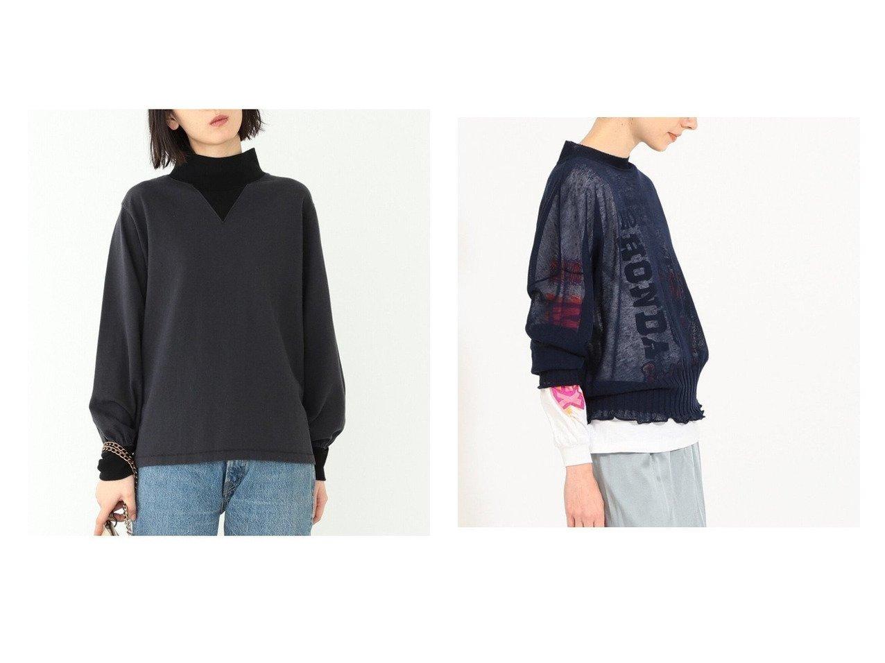 【BEAMS BOY/ビームス ボーイ】のSheer Roll Pullover Knit&ハイネック Vリブ プルオーバー トップス・カットソーのおすすめ!人気、トレンド・レディースファッションの通販  おすすめで人気の流行・トレンド、ファッションの通販商品 メンズファッション・キッズファッション・インテリア・家具・レディースファッション・服の通販 founy(ファニー) https://founy.com/ ファッション Fashion レディースファッション WOMEN トップス Tops Tshirt シャツ/ブラウス Shirts Blouses ロング / Tシャツ T-Shirts プルオーバー Pullover カットソー Cut and Sewn ニット Knit Tops NEW・新作・新着・新入荷 New Arrivals インナー カットソー ハイネック ヴィンテージ 春 Spring カットオフ シアー ベーシック 長袖  ID:crp329100000010486