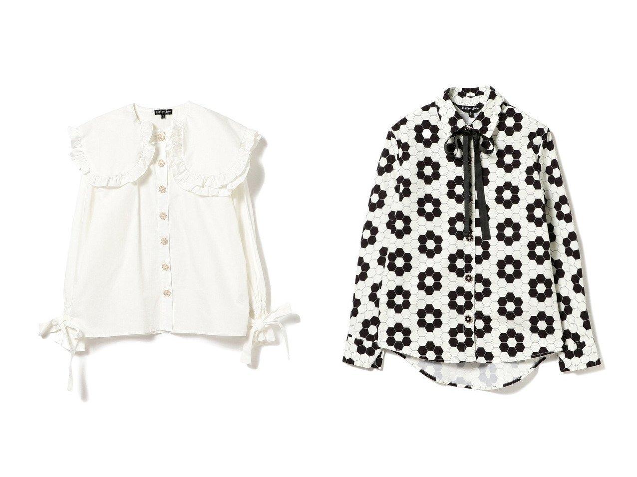 【Ray BEAMS/レイ ビームス】のFox Trot Collar Blouses&Daisy Bowtie Blouses トップス・カットソーのおすすめ!人気、トレンド・レディースファッションの通販  おすすめで人気の流行・トレンド、ファッションの通販商品 メンズファッション・キッズファッション・インテリア・家具・レディースファッション・服の通販 founy(ファニー) https://founy.com/ ファッション Fashion レディースファッション WOMEN トップス Tops Tshirt シャツ/ブラウス Shirts Blouses NEW・新作・新着・新入荷 New Arrivals カッティング トレンド リボン ロンドン 長袖 |ID:crp329100000010514