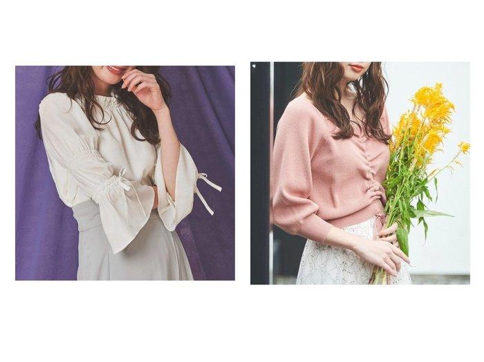 【Noela/ノエラ】のキャンディスリーブブラウス&ボリューム袖ストリングニット トップス・カットソーのおすすめ!人気、トレンド・レディースファッションの通販  おすすめファッション通販アイテム レディースファッション・服の通販 founy(ファニー) ファッション Fashion レディースファッション WOMEN トップス Tops Tshirt シャツ/ブラウス Shirts Blouses ニット Knit Tops NEW・新作・新着・新入荷 New Arrivals インナー 無地 オレンジ コンパクト ストリング トレンド バランス フェミニン |ID:crp329100000010553