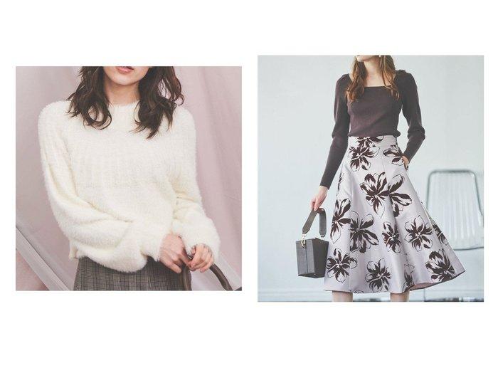 【Noela/ノエラ】のバックフレアシャギーニット&バックレースアップニット トップス・カットソーのおすすめ!人気、トレンド・レディースファッションの通販  おすすめファッション通販アイテム レディースファッション・服の通販 founy(ファニー) ファッション Fashion レディースファッション WOMEN トップス Tops Tshirt ニット Knit Tops シンプル リボン 長袖 |ID:crp329100000010555