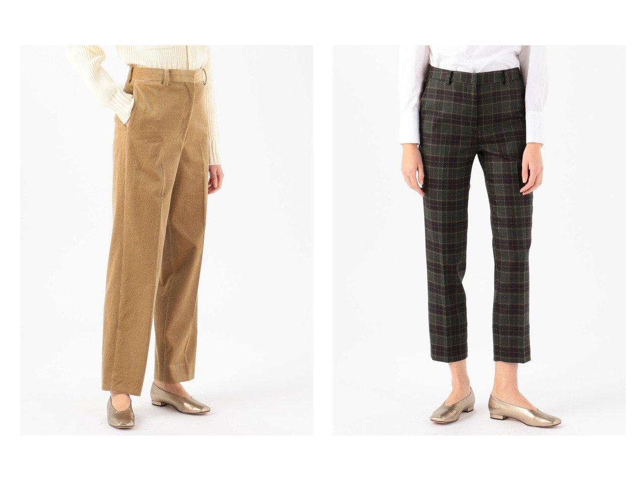 【BACCA/バッカ】のコットンコーデュロイ ハイウエストストレートパンツ br&【TOMORROWLAND collection/トゥモローランド コレクション】のウールトスカーナチェック ペンシルパンツ パンツのおすすめ!人気、トレンド・レディースファッションの通販 おすすめで人気の流行・トレンド、ファッションの通販商品 メンズファッション・キッズファッション・インテリア・家具・レディースファッション・服の通販 founy(ファニー) https://founy.com/ ファッション Fashion レディースファッション WOMEN パンツ Pants NEW・新作・新着・新入荷 New Arrivals 2020年 2020 2020-2021 秋冬 A/W AW Autumn/Winter / FW Fall-Winter 2020-2021 A/W 秋冬 AW Autumn/Winter / FW Fall-Winter クロップド シューズ ジーンズ チェック バランス フラット ペンシル コーデュロイ ストレート  ID:crp329100000010700