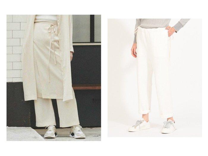 【BEAMS BOY/ビームス ボーイ】のSide Cord Jersey Pants&【emmi/エミ】の【emmi atelier】サテンパンツ パンツのおすすめ!人気、トレンド・レディースファッションの通販 おすすめファッション通販アイテム インテリア・キッズ・メンズ・レディースファッション・服の通販 founy(ファニー) https://founy.com/ ファッション Fashion レディースファッション WOMEN パンツ Pants NEW・新作・新着・新入荷 New Arrivals とろみ キャミワンピース サテン ジーンズ リラックス 再入荷 Restock/Back in Stock/Re Arrival サスペンダー サロペット スピンドル プリント ミリタリー |ID:crp329100000010731
