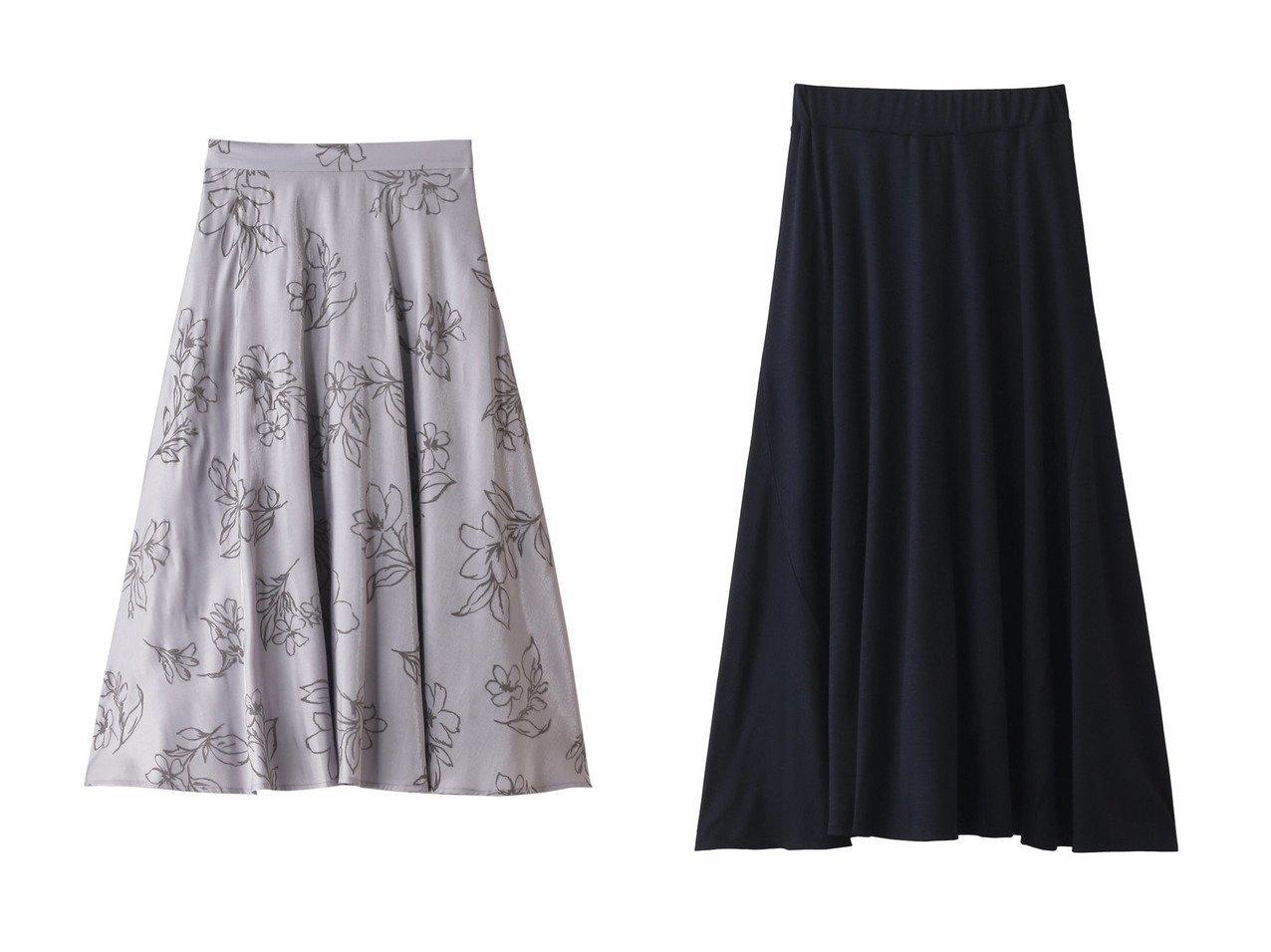 【Chaos/カオス】のCRラッシュスムーススカート&【31 Sons de mode/トランテアン ソン ドゥ モード】のフロッキーフレアスカート スカートのおすすめ!人気、トレンド・レディースファッションの通販 おすすめで人気の流行・トレンド、ファッションの通販商品 メンズファッション・キッズファッション・インテリア・家具・レディースファッション・服の通販 founy(ファニー) https://founy.com/ ファッション Fashion レディースファッション WOMEN スカート Skirt Aライン/フレアスカート Flared A-Line Skirts フェミニン フラワー フレア 春 Spring シンプル  ID:crp329100000010769