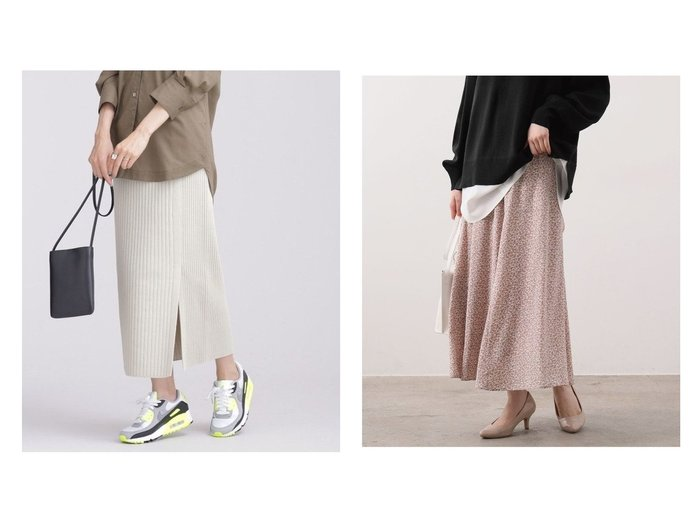 【nano universe/ナノ ユニバース】の思いきり洗えるニット サイドスリットスカート&【VIS/ビス】の切替マーメイドスカート スカートのおすすめ!人気、トレンド・レディースファッションの通販  おすすめファッション通販アイテム レディースファッション・服の通販 founy(ファニー) ファッション Fashion レディースファッション WOMEN スカート Skirt アクリル 洗える カットソー コンパクト スタンダード セットアップ ロング NEW・新作・新着・新入荷 New Arrivals フィット フラワー マーメイド 冬 Winter 切替 春 Spring |ID:crp329100000010782